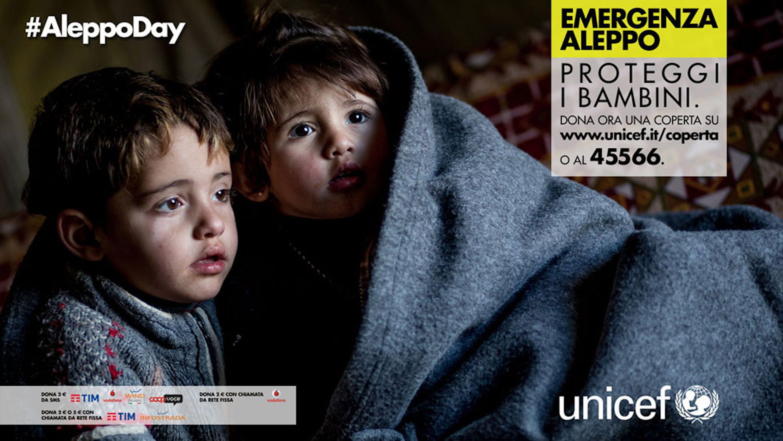 L'immagine dell'iniziativa #AleppoDay