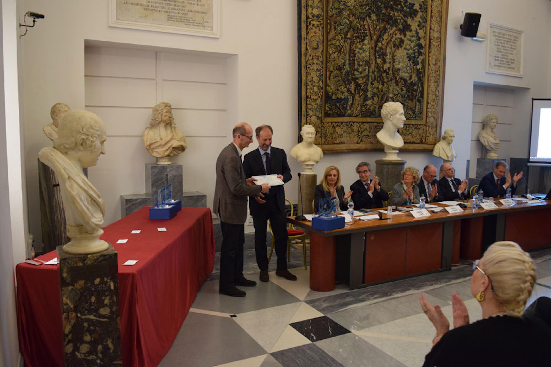 Un momento della premiazione dell'UNICEF Italia - ©FareRete