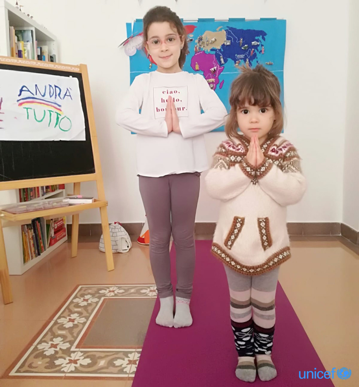 Ti piacerebbe essere una farfalla? Yoga per bambini ai tempi del coronavirus