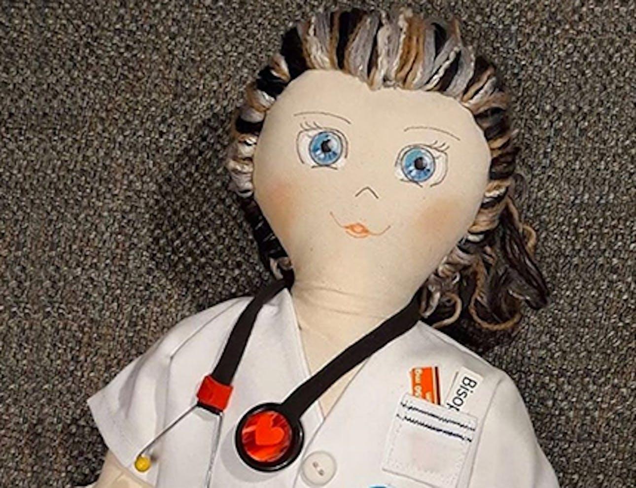 Voglio essere una dottoressa! La Pigotta ai tempi del coronavirus