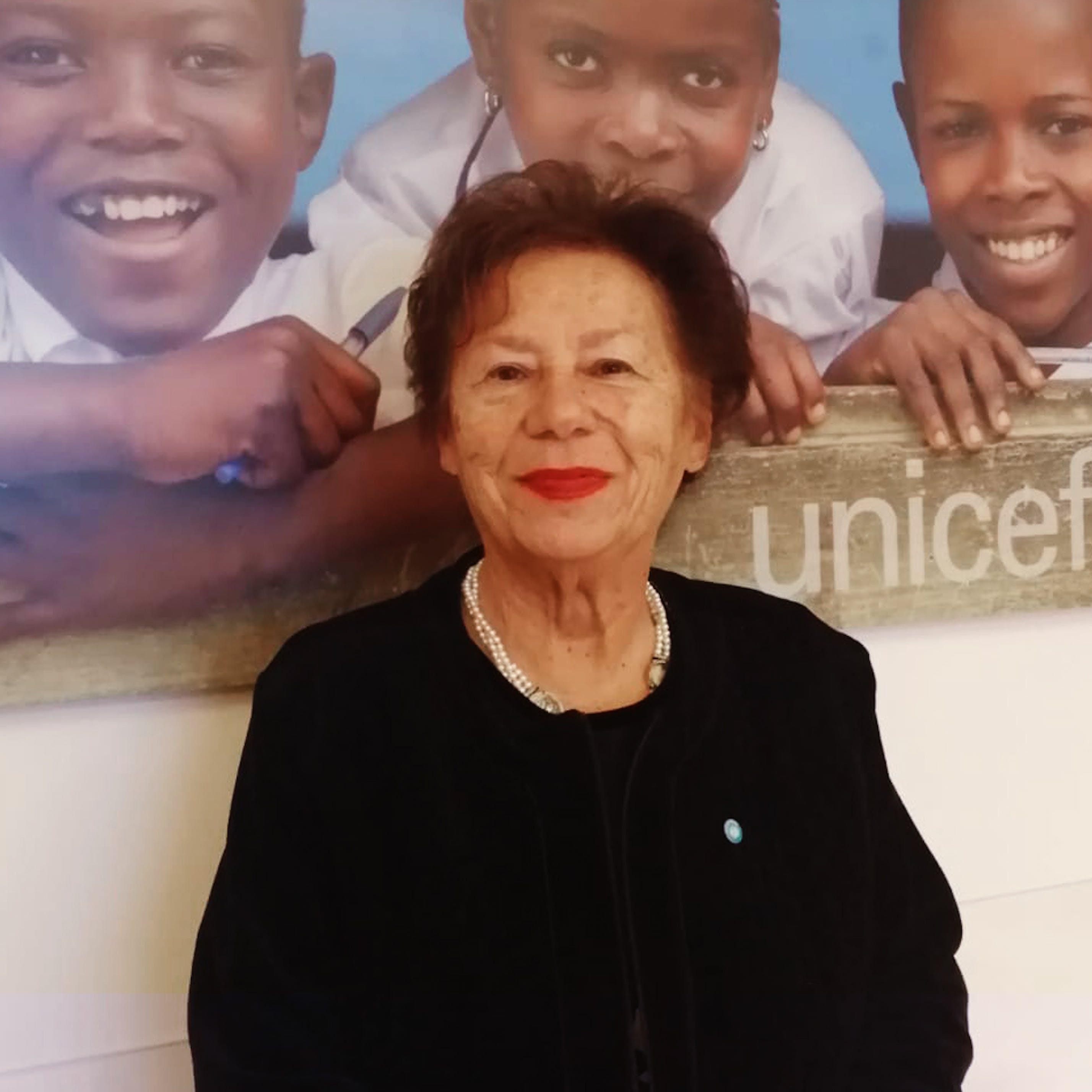 Il Presidente dell'UNICEF Carmela Pace