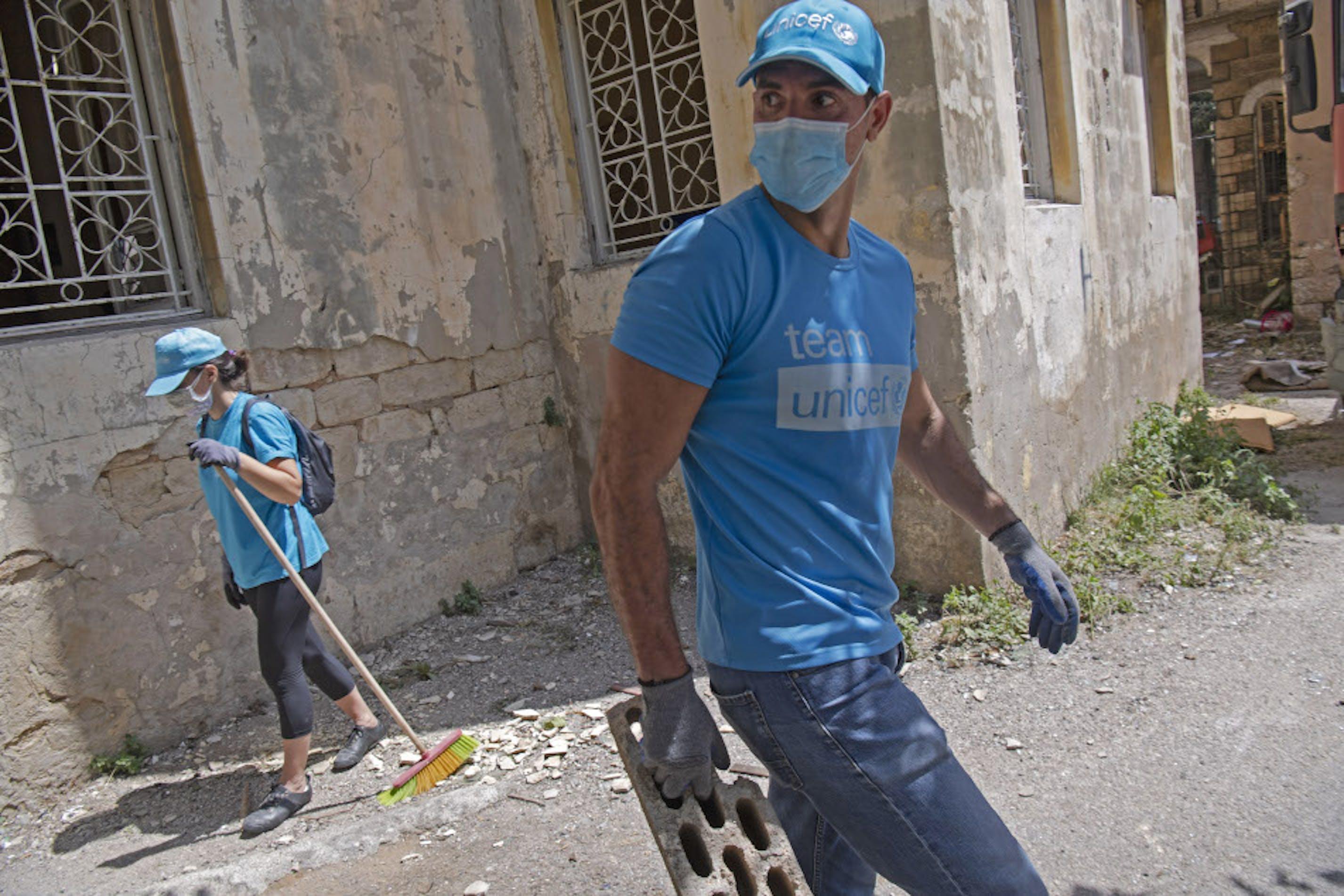 Vlontari libanesi Beirut