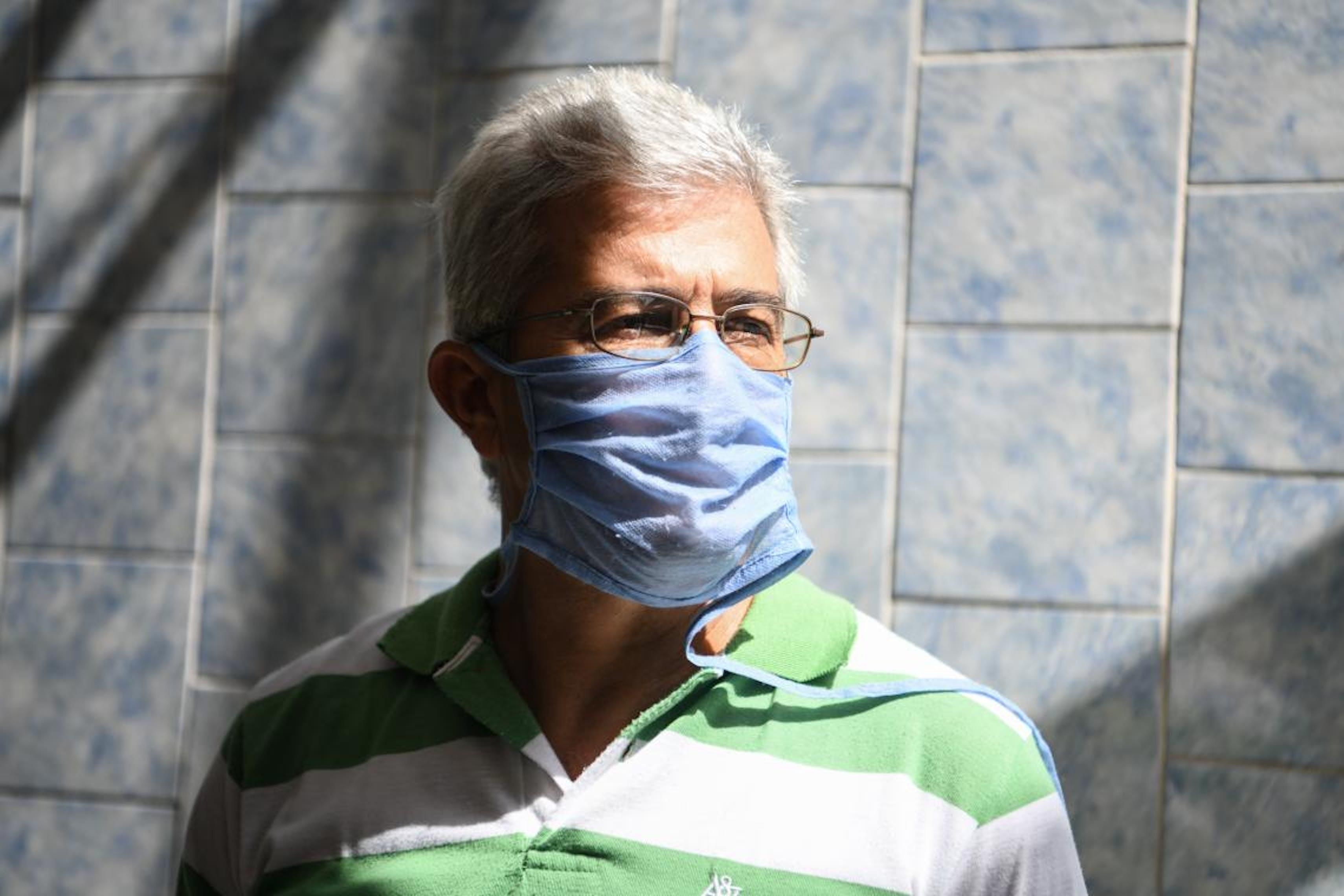 Miguel, insegnante in una scuola di Guatire, Caracas, ha provato ad adeguare il proprio insegnamento alla pandemia