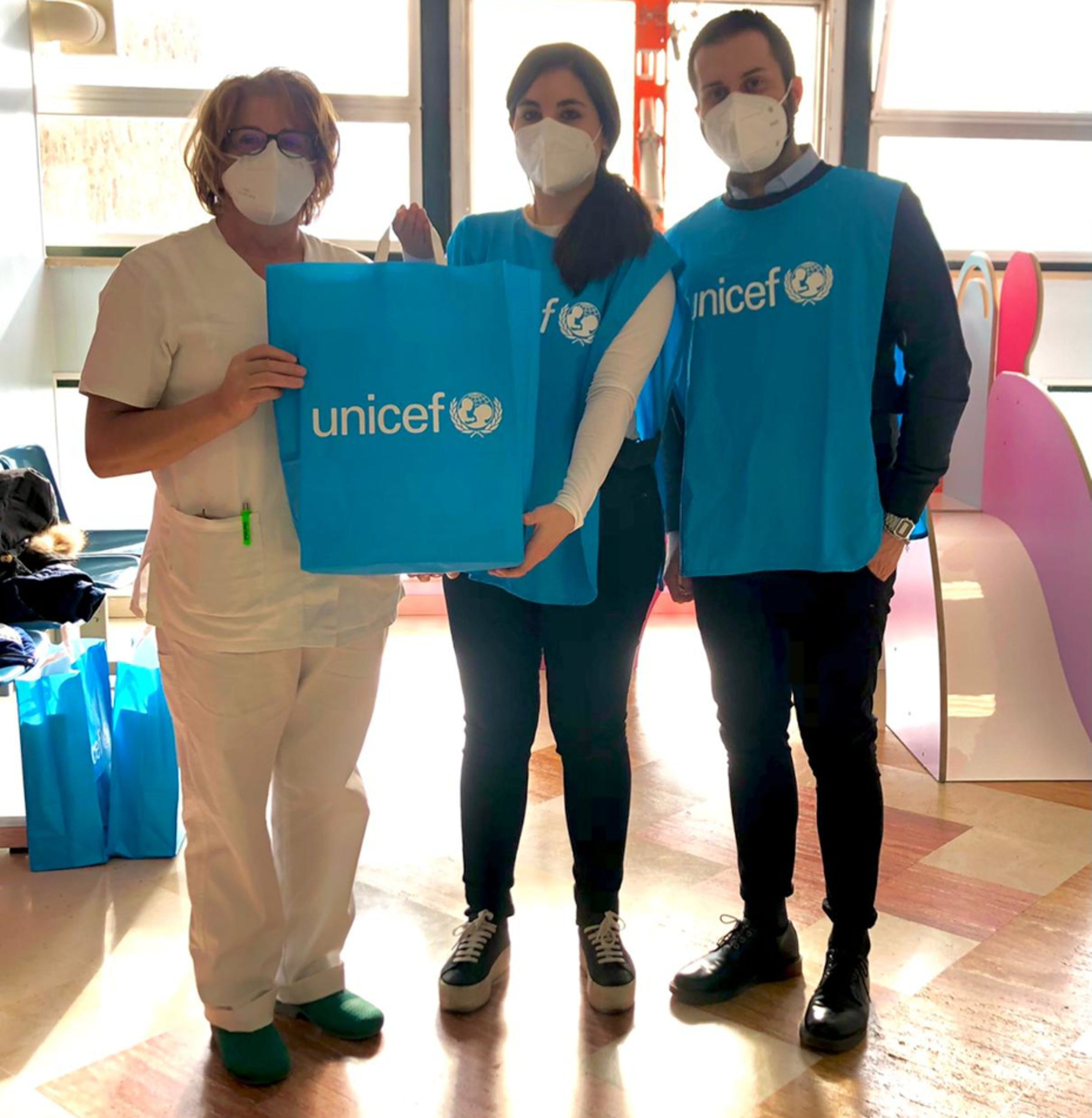 volontari UNICEF, Isernia