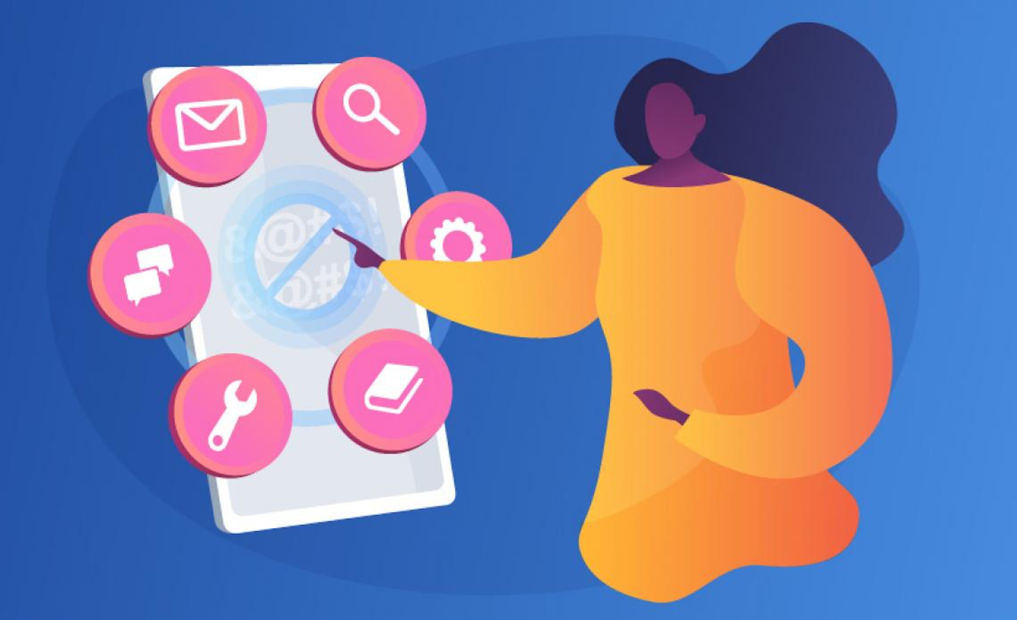Illustrazione Cyberbullismo, strumenti online