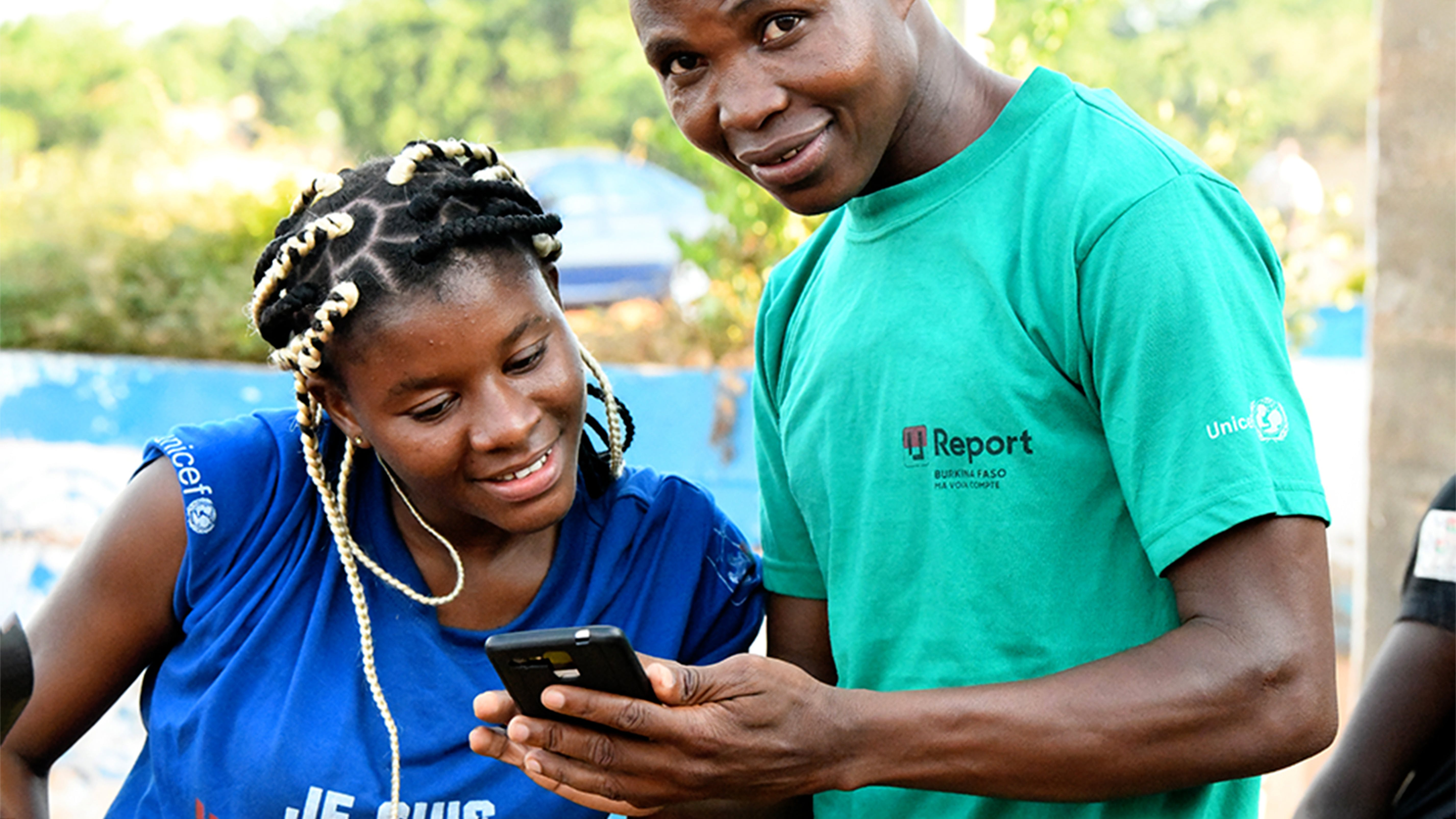 Ureport. giovani, Burkina Faso