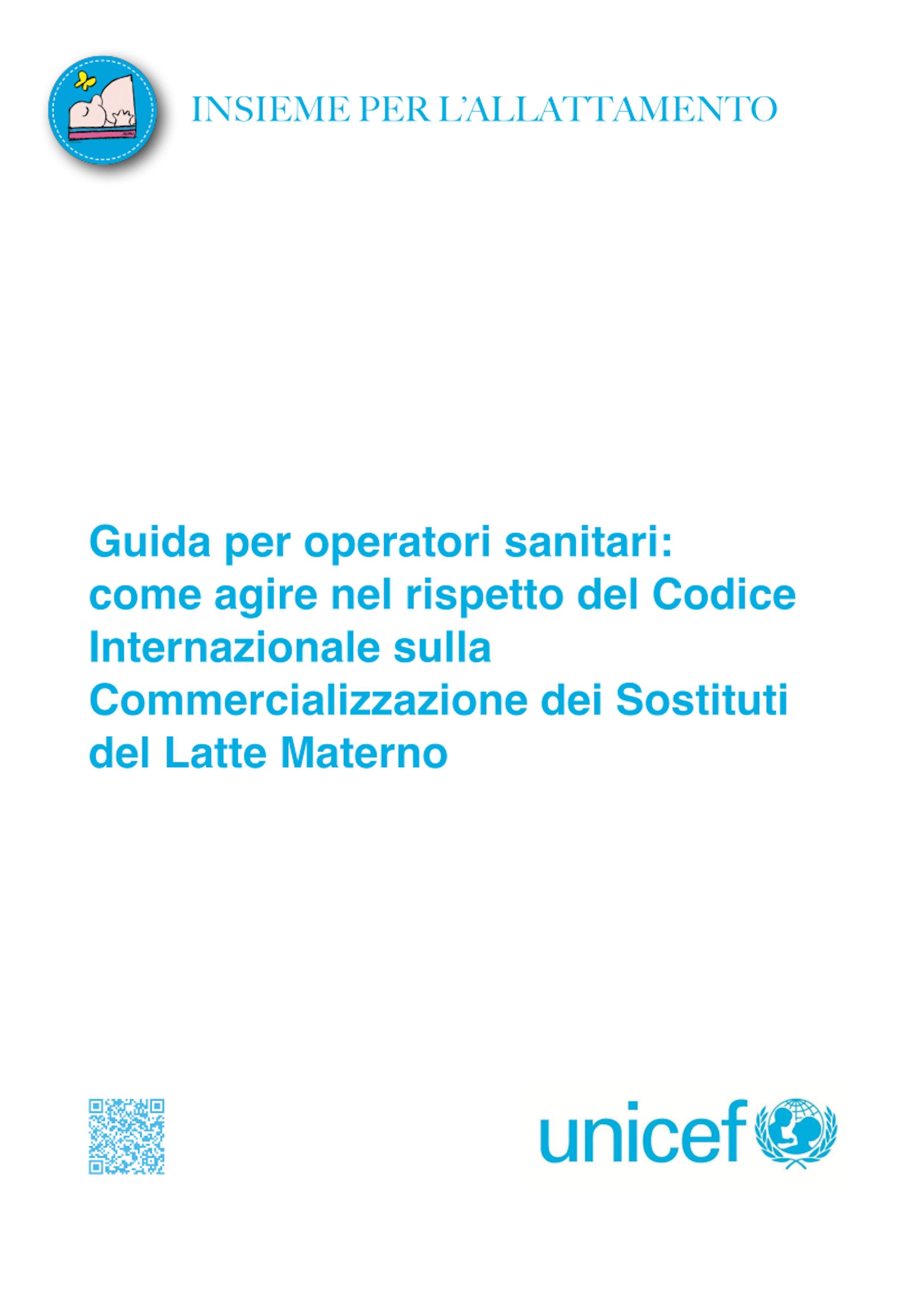 codice internazionale sostiuti latte materno