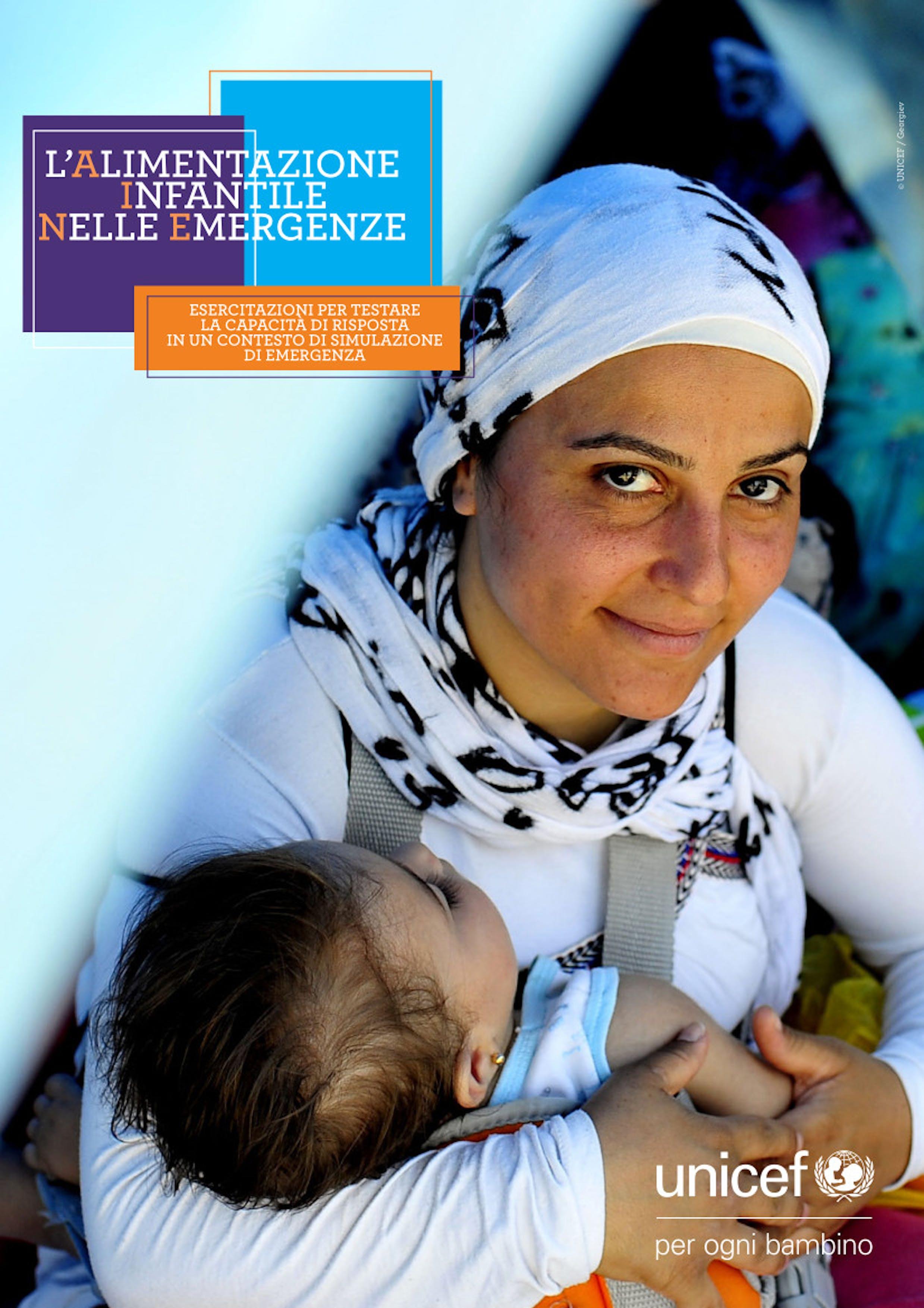 alimentazione neonati, emergenze