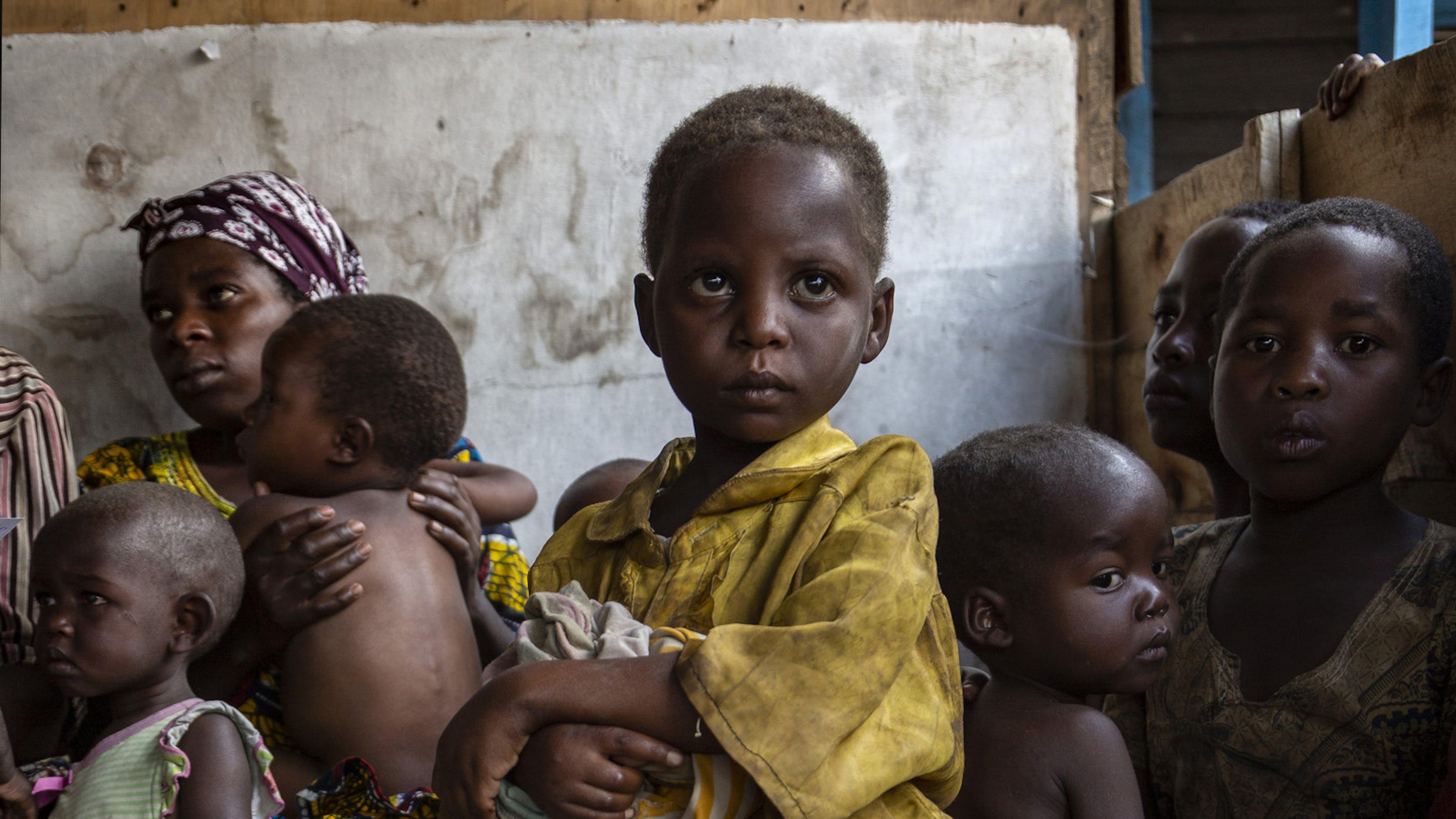 Congo, screening, bambino