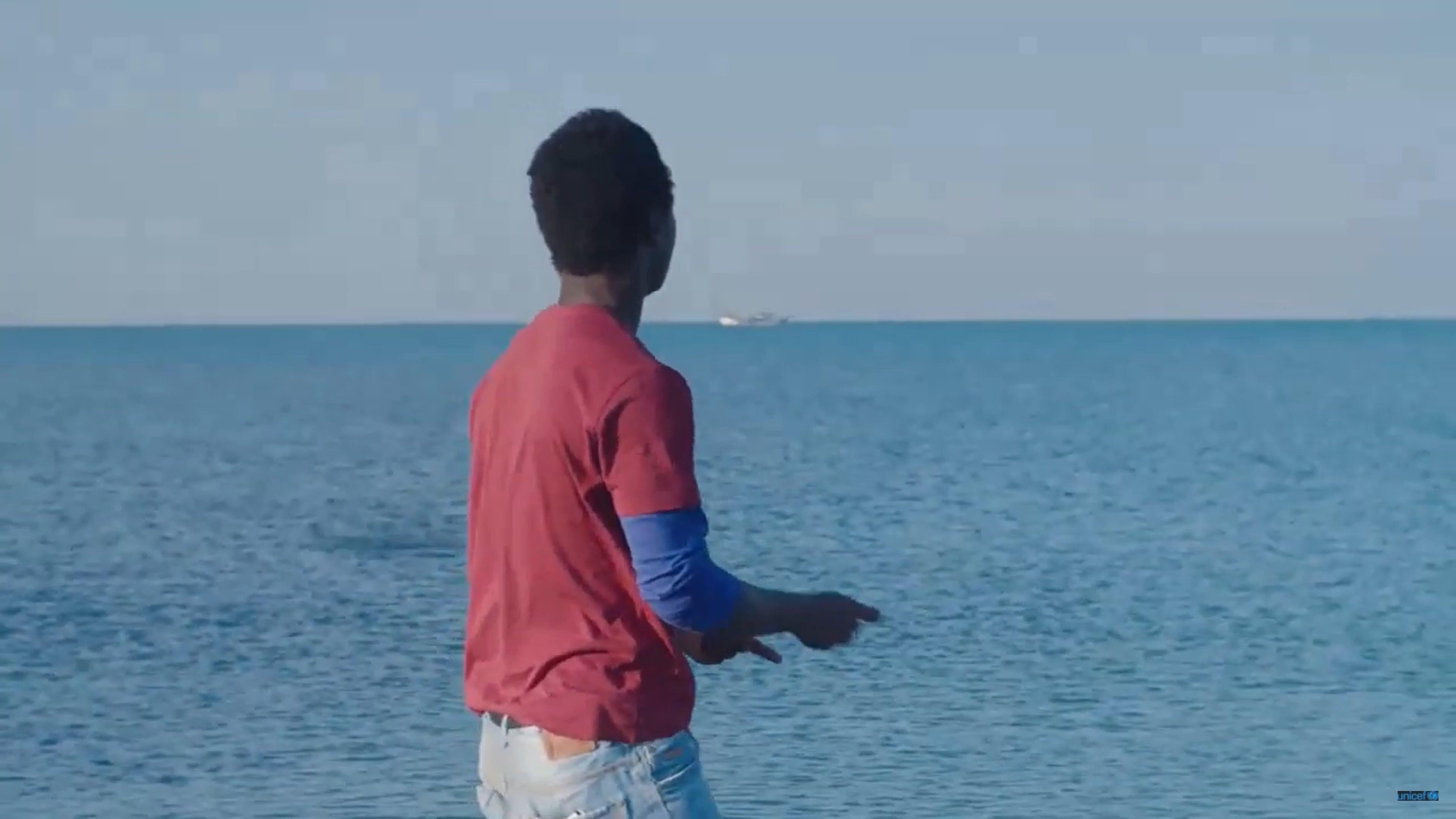 Screen video: una speranza sottile come un filo. Il viaggio di Ibrahim