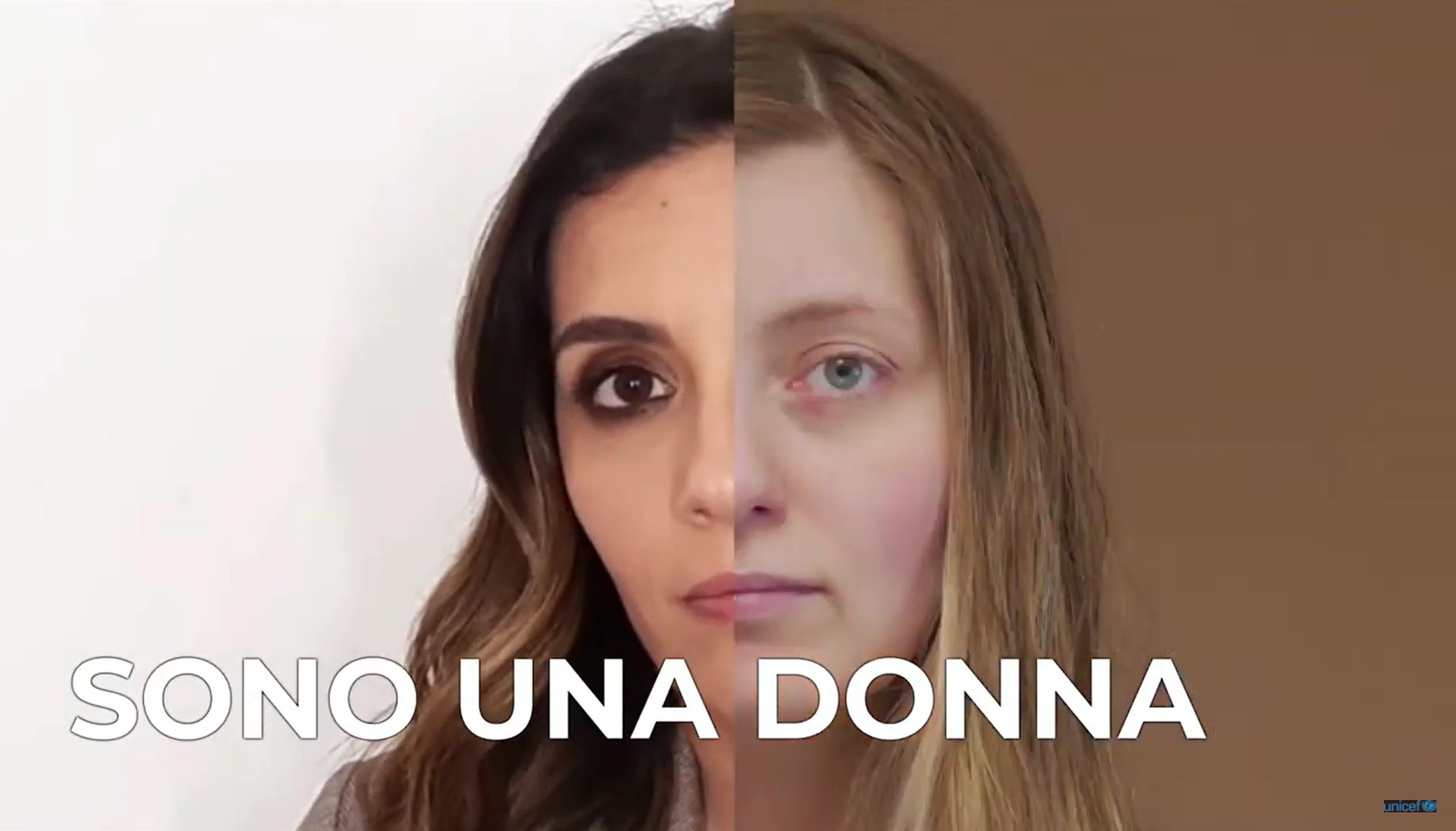Screen video Serena Rossi 8 marzo