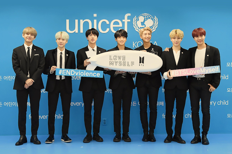 I BTS e il loro impegno a fianco dell'UNICEF per promuovere il benessere dei più giovani