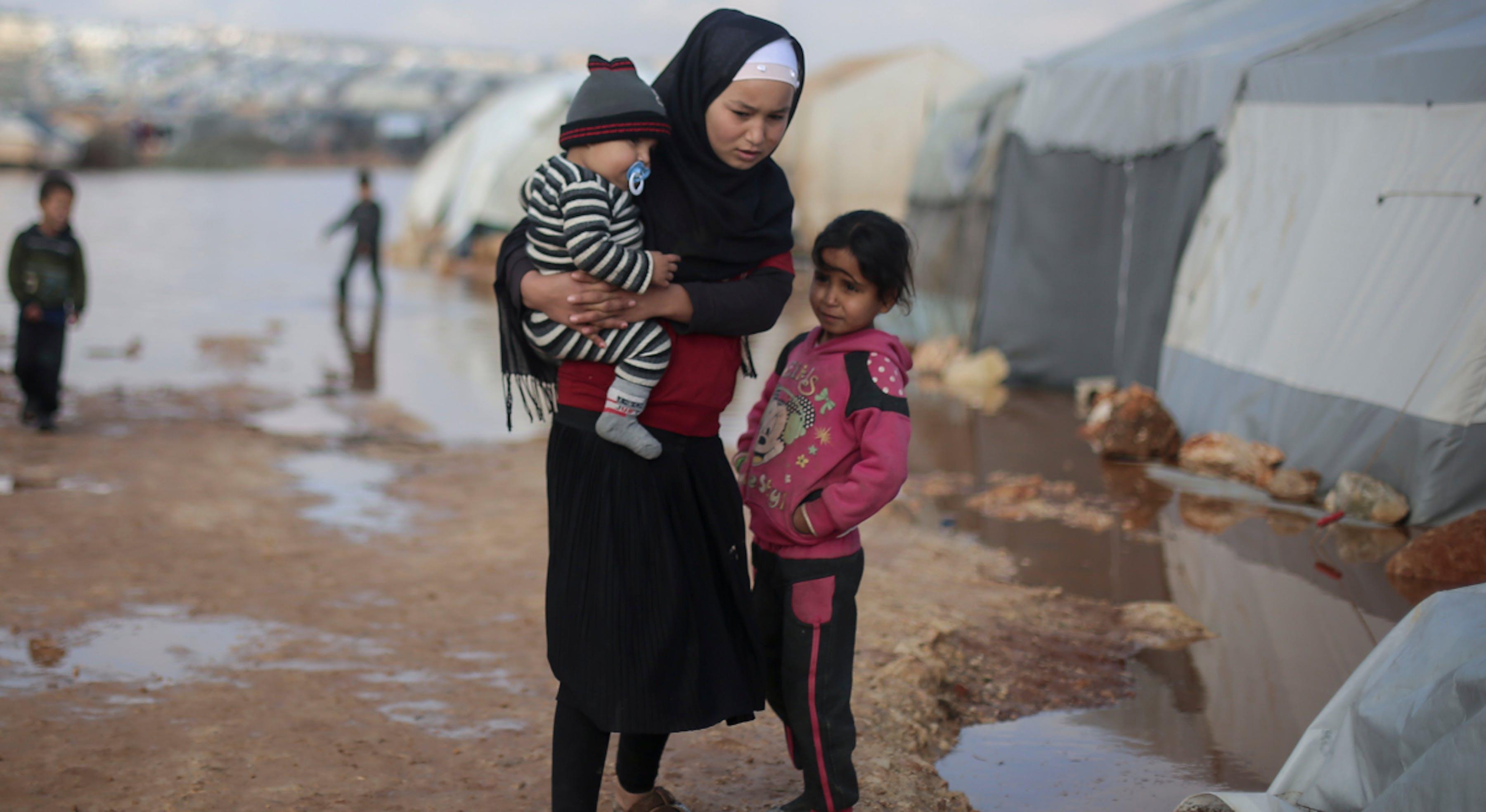 Siria, bambini e guerra