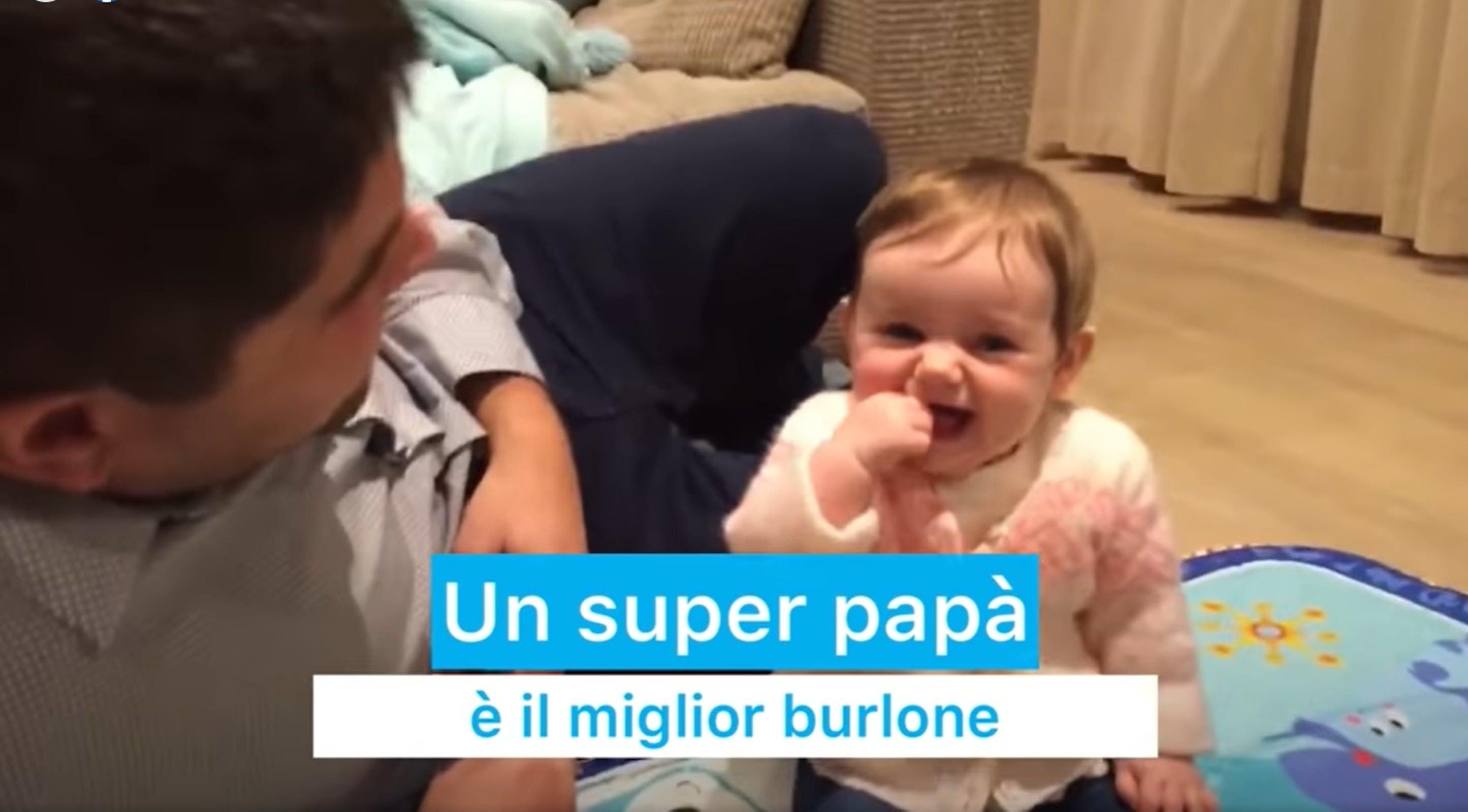 foto screen video super papà