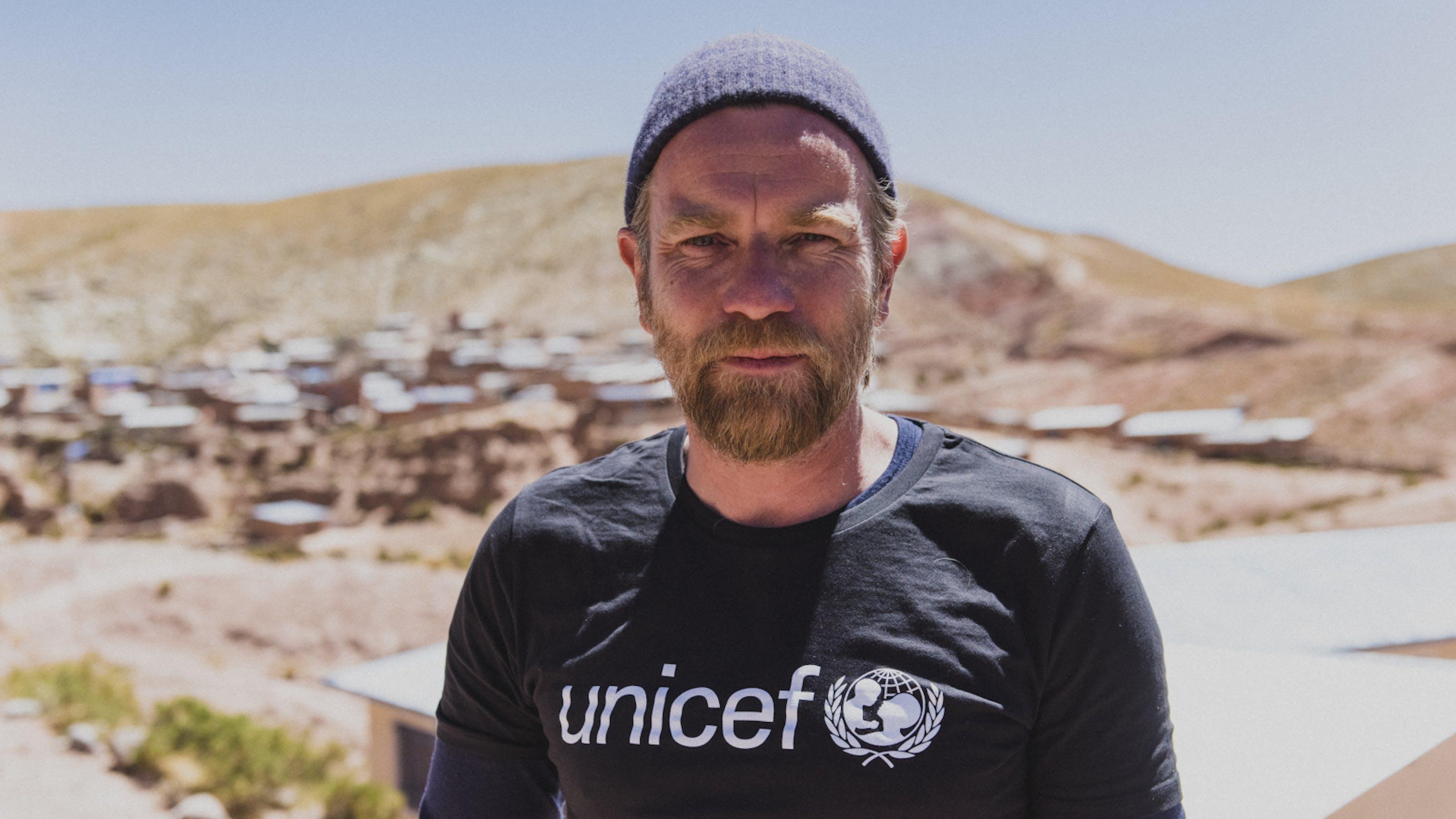 L'ambasciatore UNICEF Ewan McGregor in Bolivia