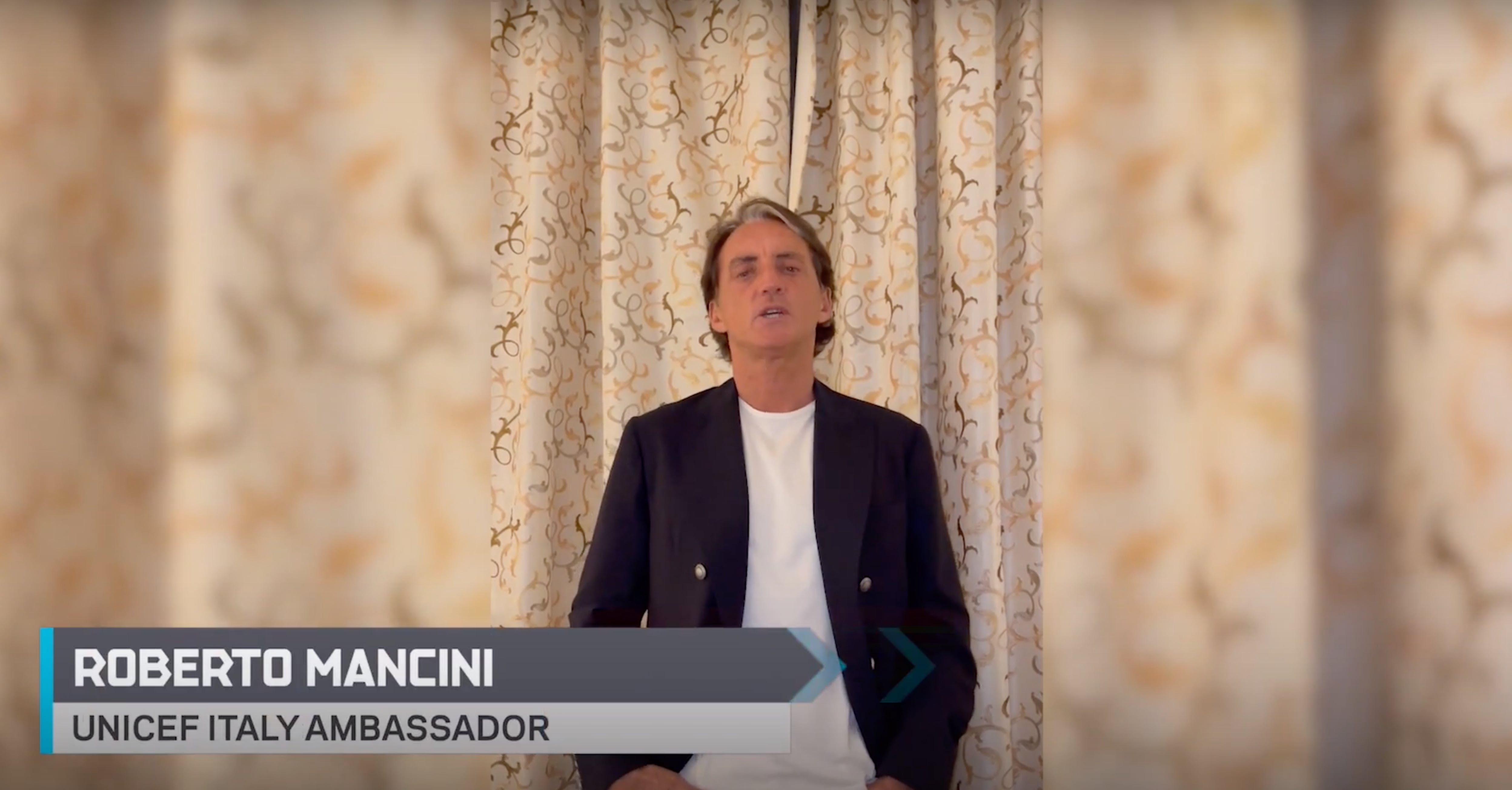 Roberto Mancini per il cambiamento climatico