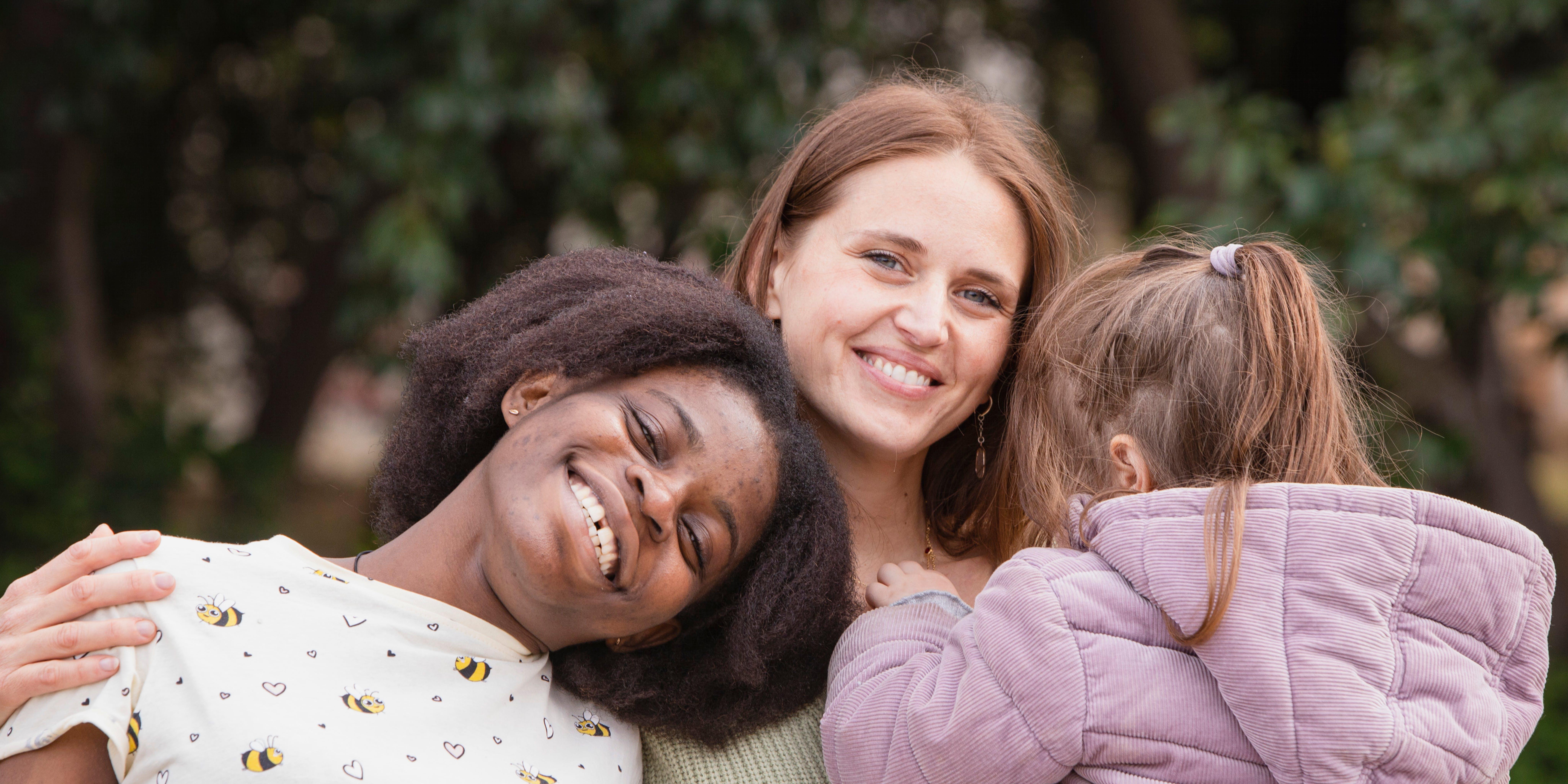 Vanessa e Valentina: rifugiata e mentore unite dall'esperienza della maternità