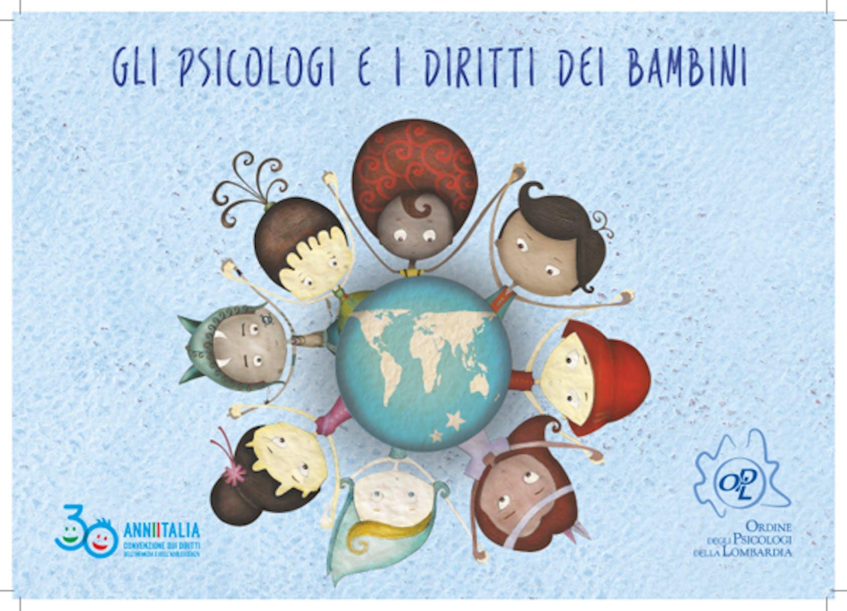 Copertina Psicologi e Diritti dei Bambini