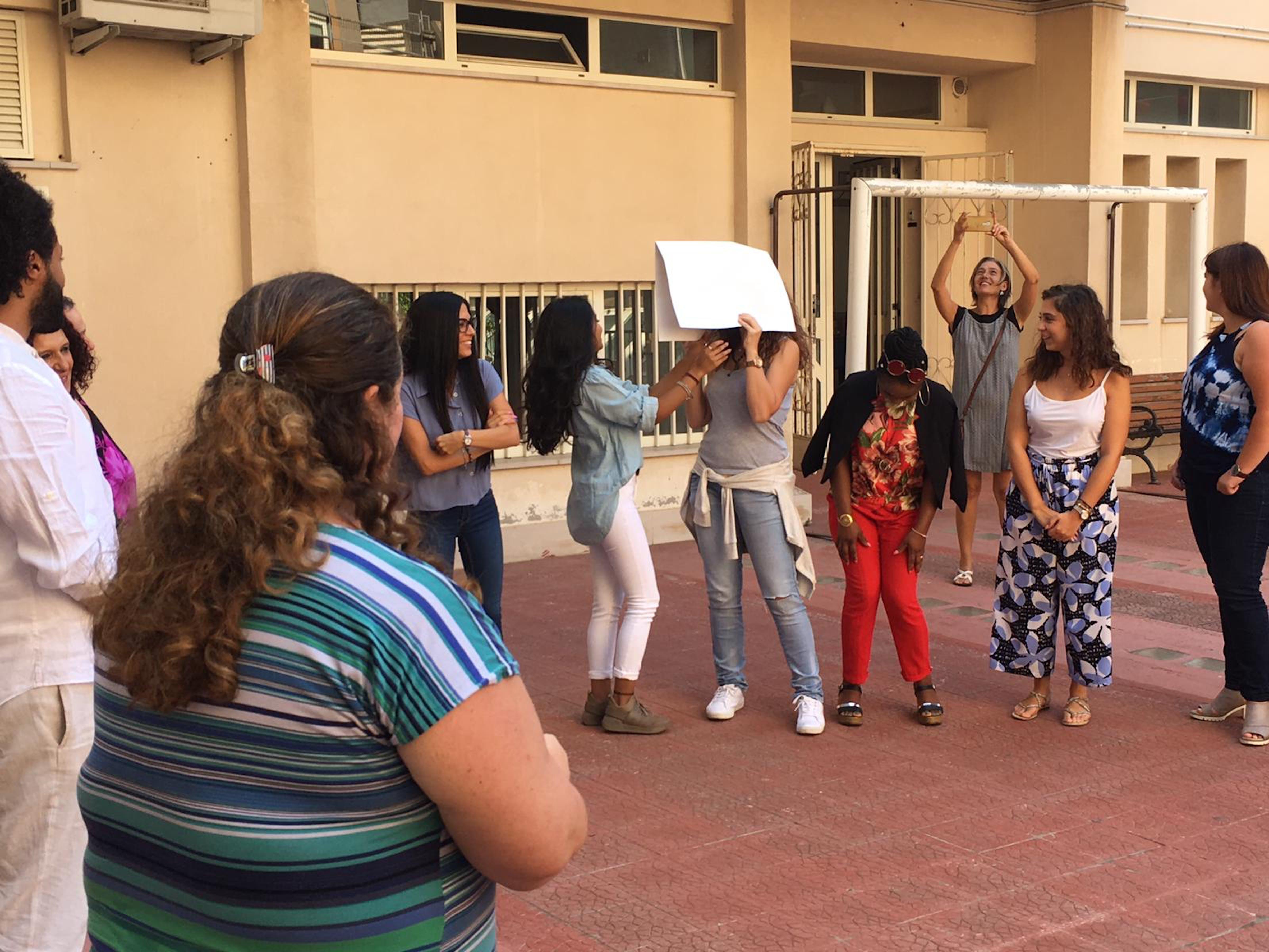 @UNICEF - Martin/2019 - Attività di gruppo durante la  formazione  di UNICEF e MEDECINS DU Monde in Calabria