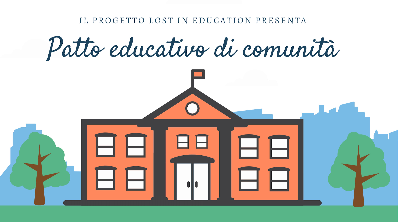 Patto educativo di comunità - copertina Lost