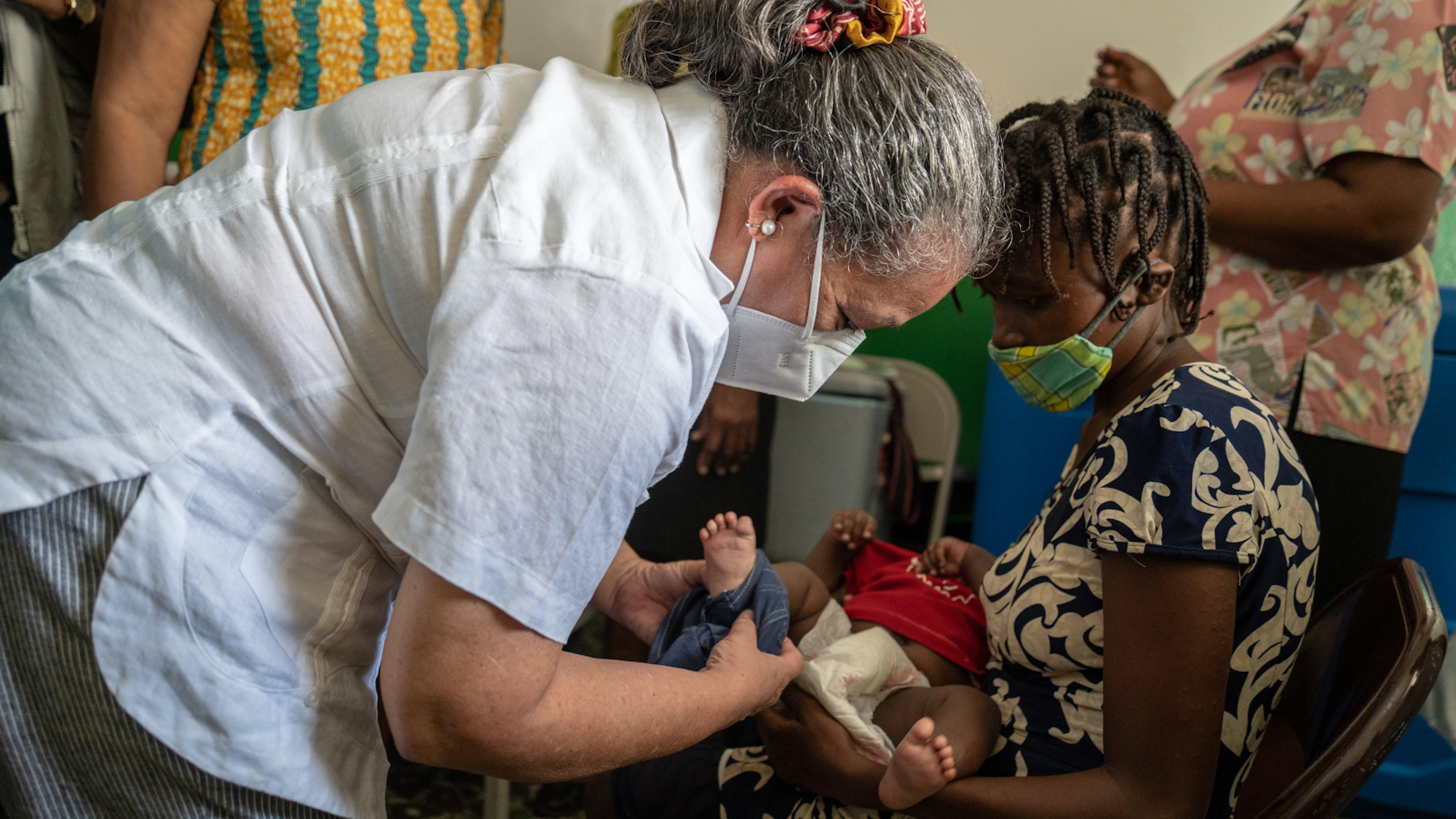 Haiti, Jean Gough, Direttore regionale UNICEF per l'America Latina e i Caraibi