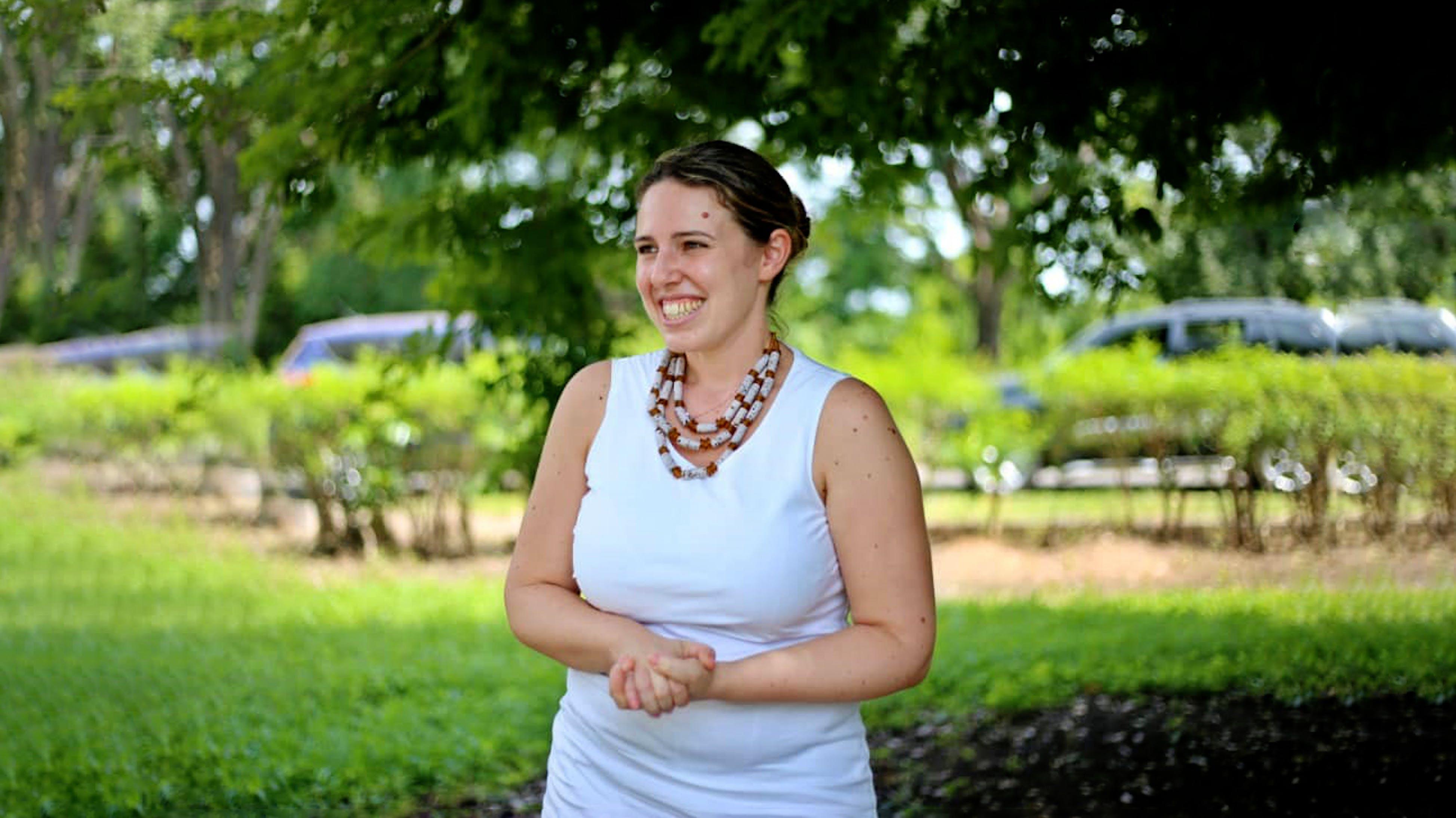 Daniela Fiorentino, fundraiser per l'UNICEF in Ghana