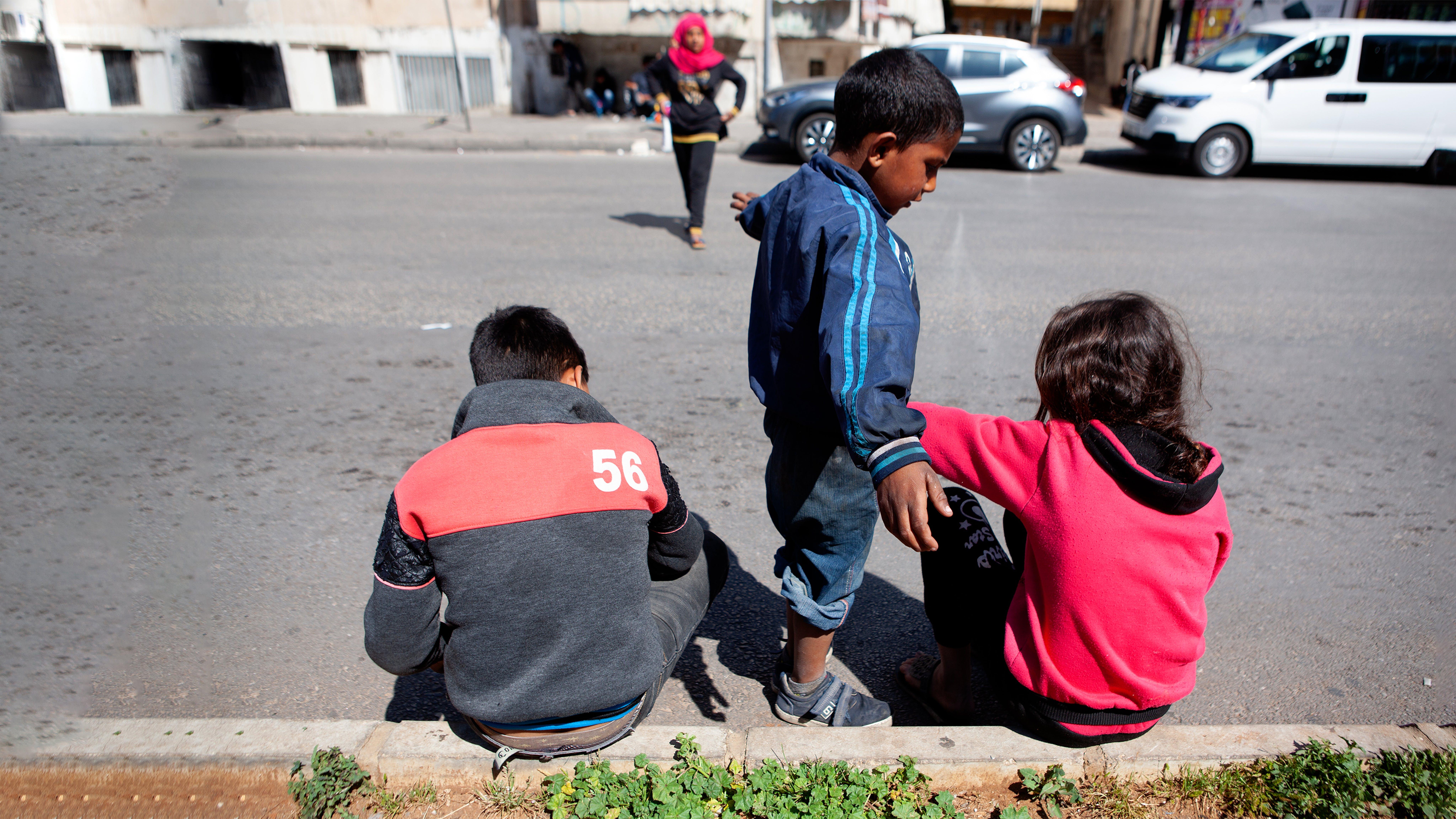 Libano, bambini lavoratori