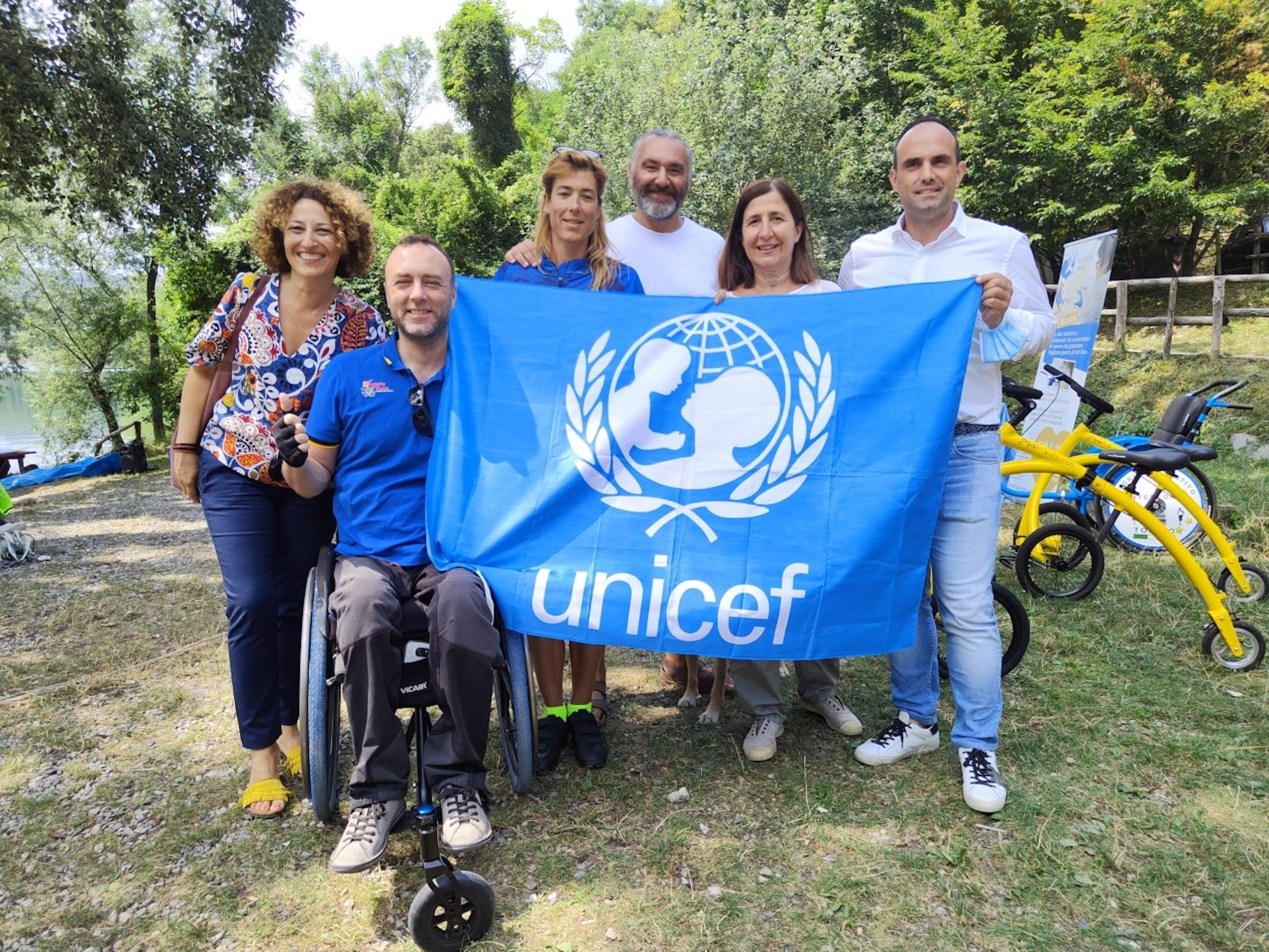 Con Luca Paiardi, ex atleta paralimpico e co-fondatore del progetto viaggioitalia.org