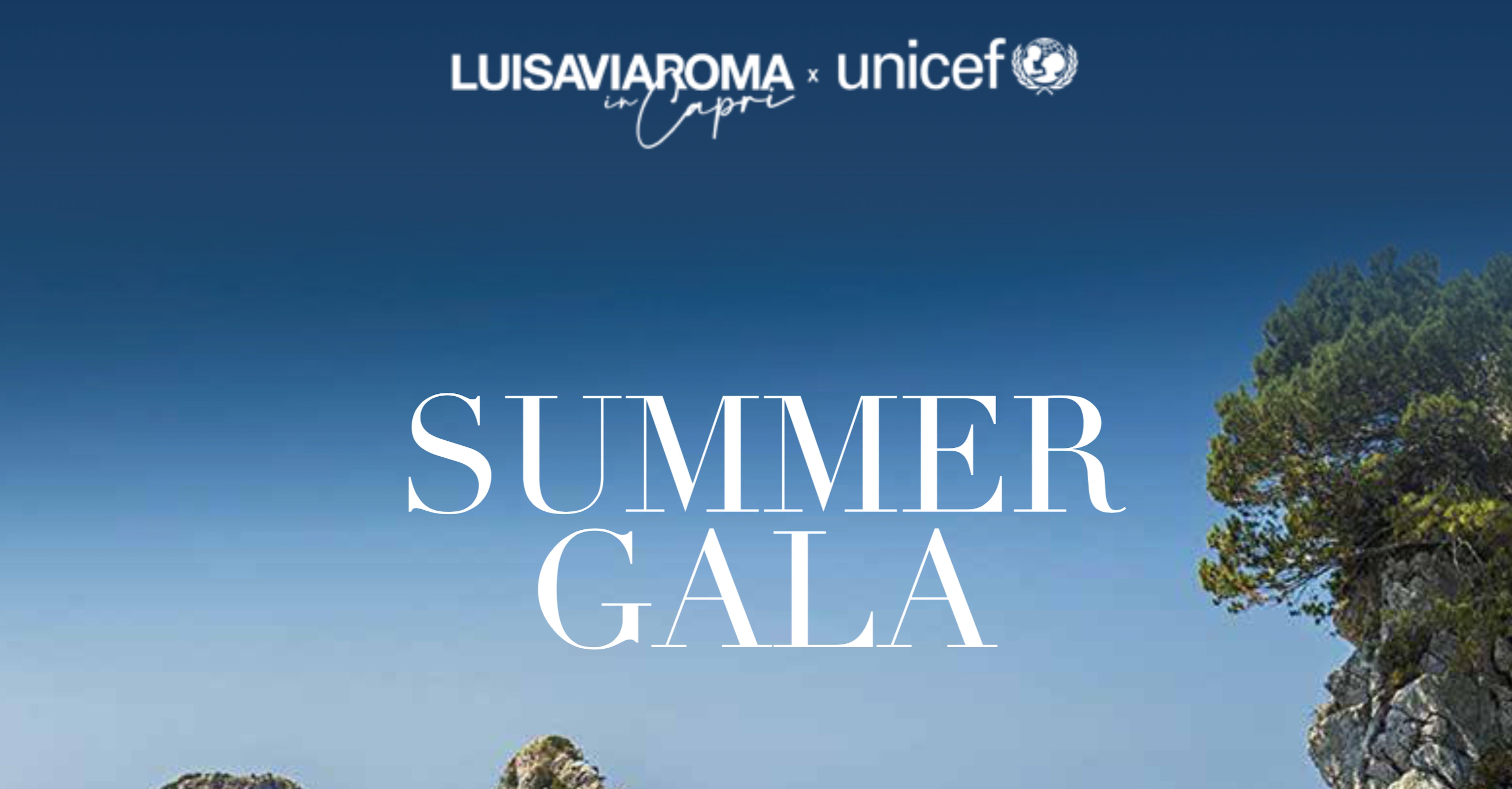 Gala Capri 2021 - LuisaViaRoma per UNICEF