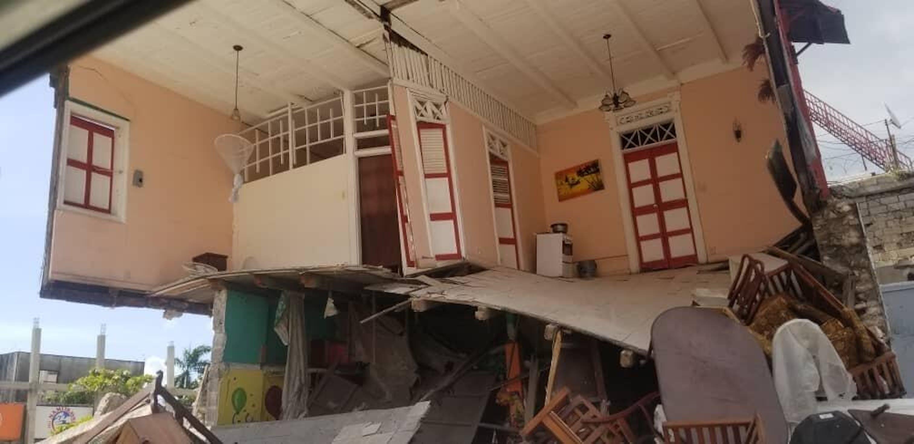Haiti, la distruzione dopo il terremoto di magnito 7,2, del 14 agosto 2021