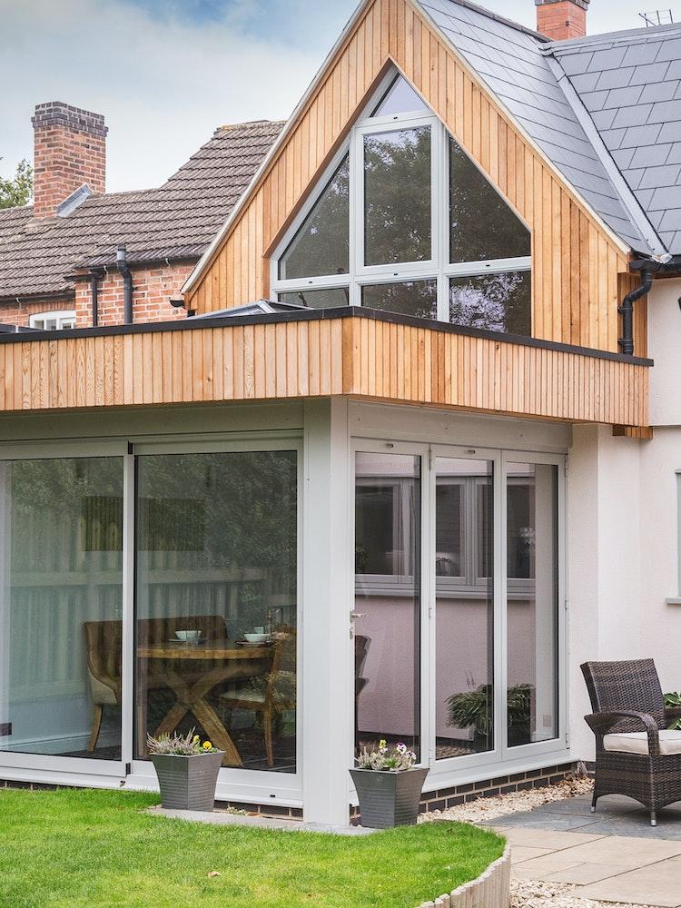 New gable & garden room