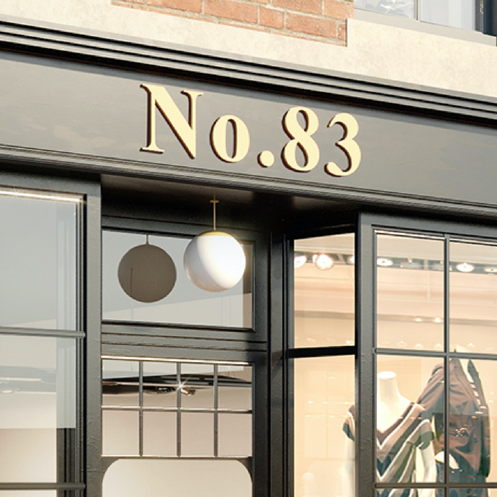 Exterior of Number 83