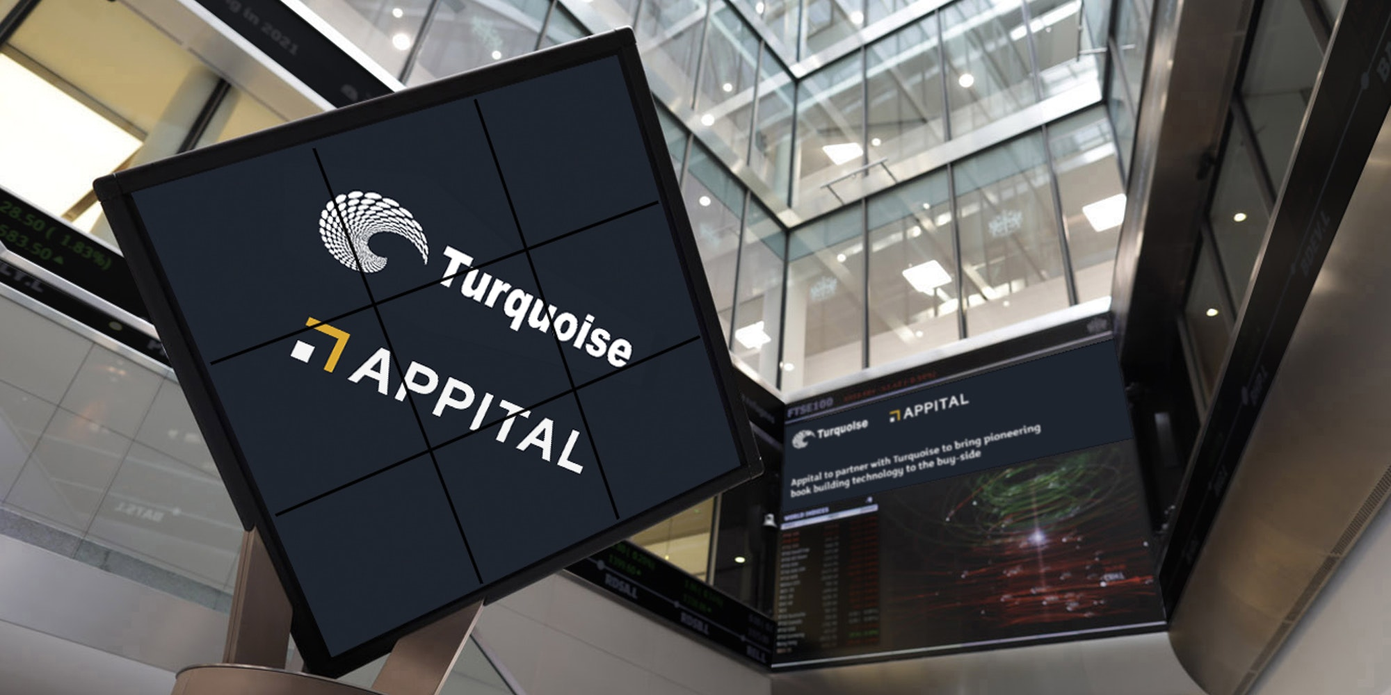Appital to partner with Turquoise to bring pioneering bookbuilding technology to the buy-side