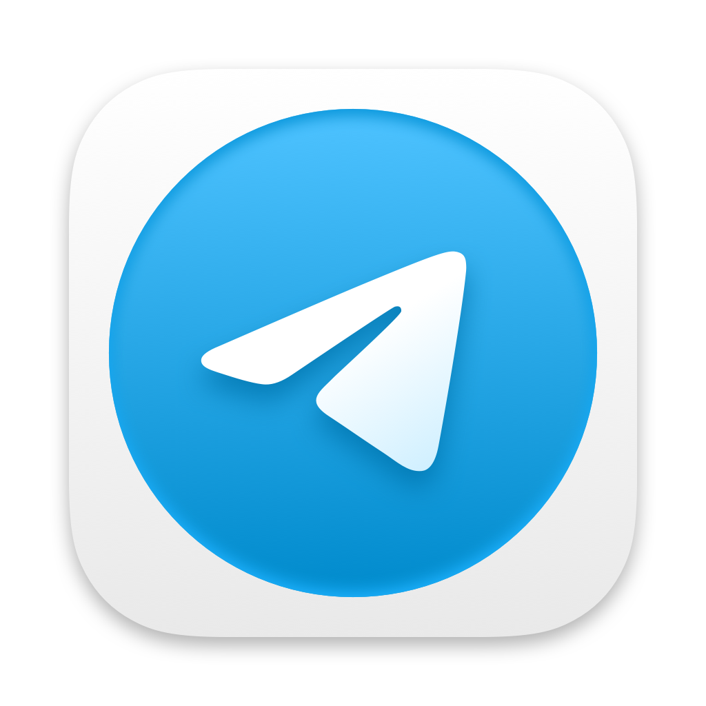 Telegram brand icon