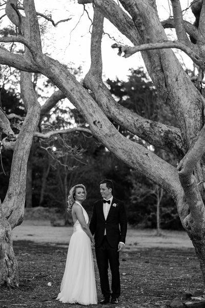 Groom looking at his beautiful bride