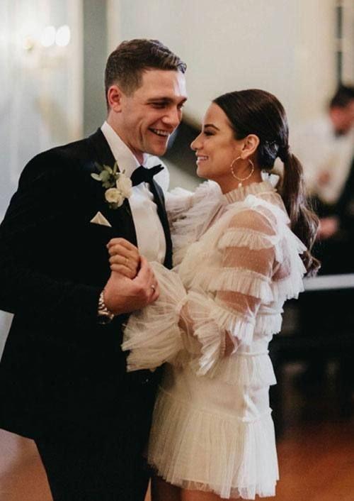 Couple Happily Dancing