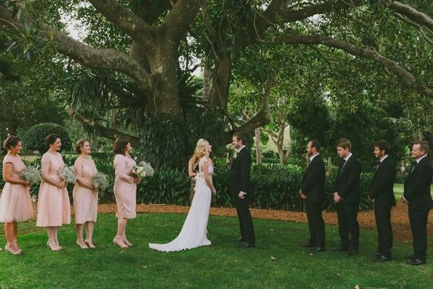 Exchanging Vows on the Ancient Fig