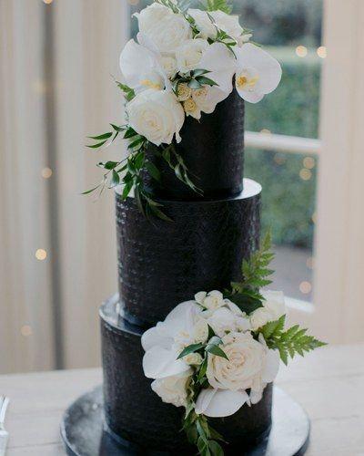 Three Layer Black Cake