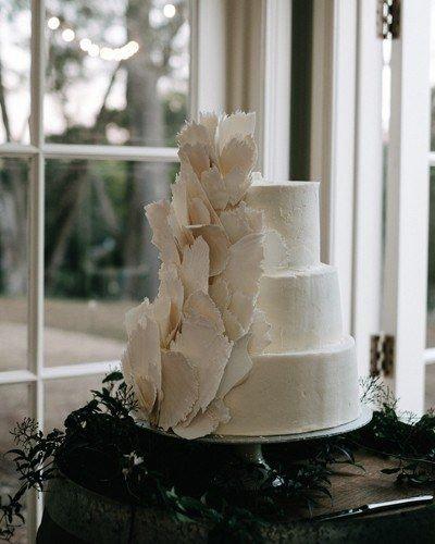 Three Layer White Cake