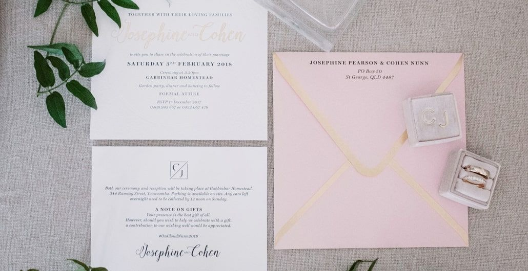 Save the dates, invitations, rsvp's – your guide of what to send and when
