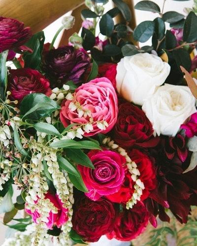 Floral Arrangements In Different Colours