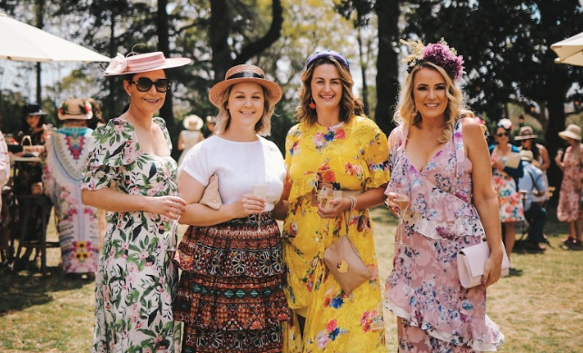 Guests at Hats & High Tea 2019 Toowoomba Carnival of Flowers