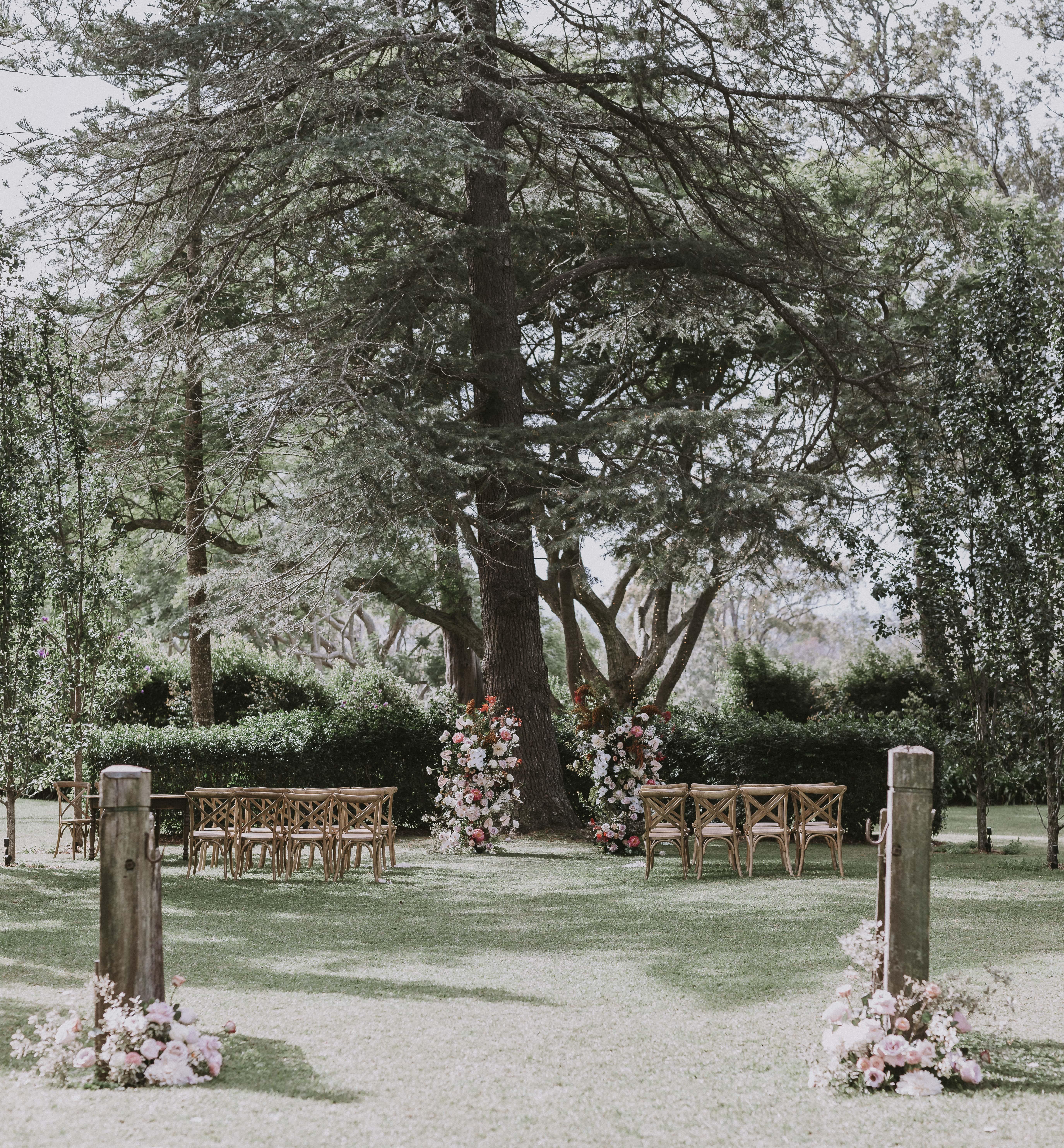 Old gates ceremony location