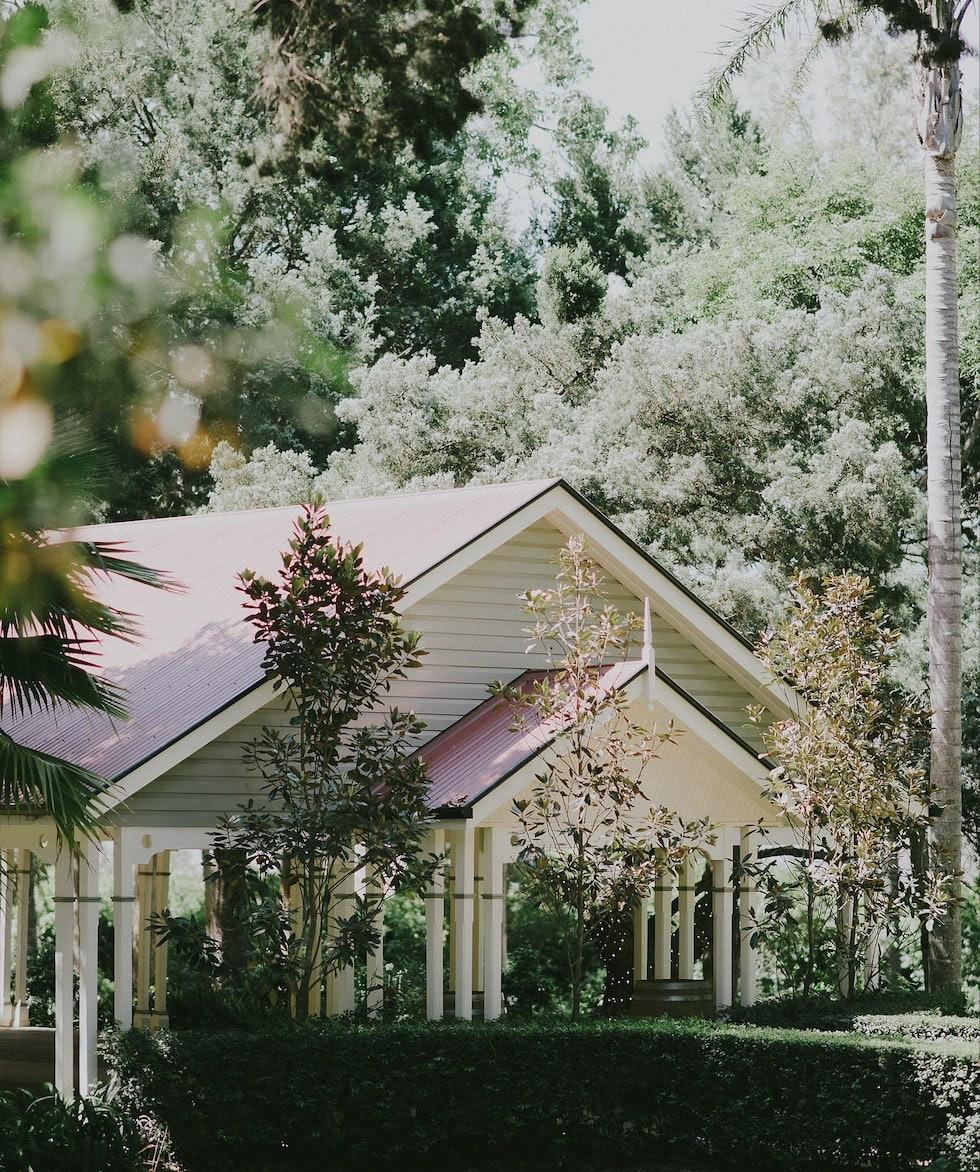 Pavilion chapel at Gabbinbar Homestead