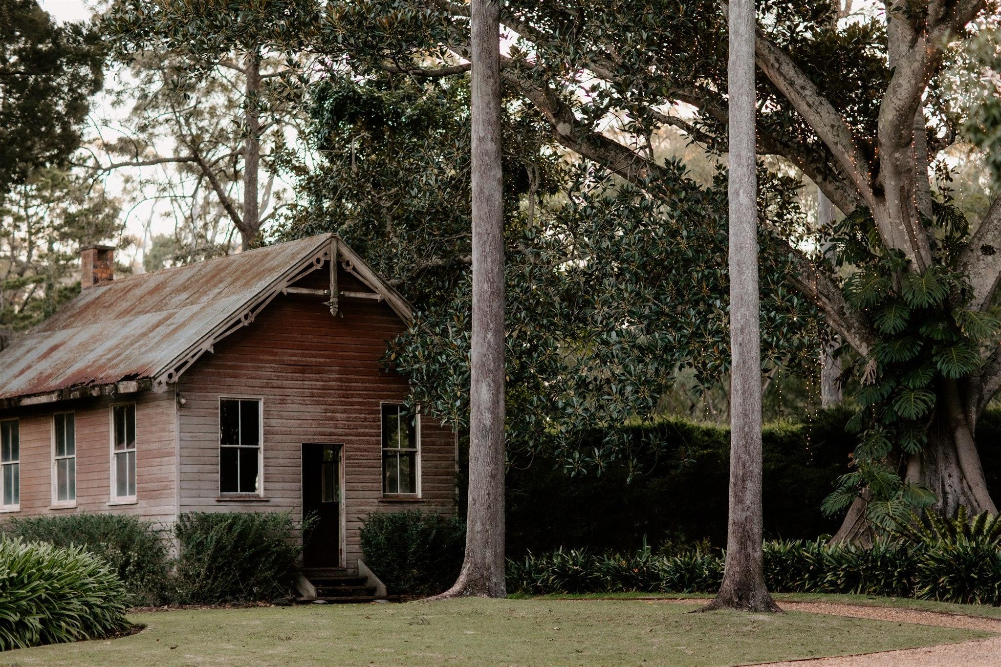 Old School House under Moreton Bay Fig