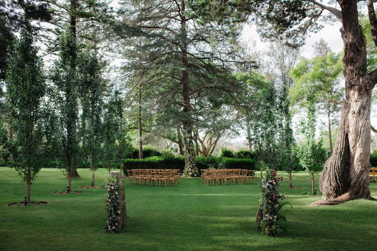 Gabbinbar Homestead wedding ceremony location
