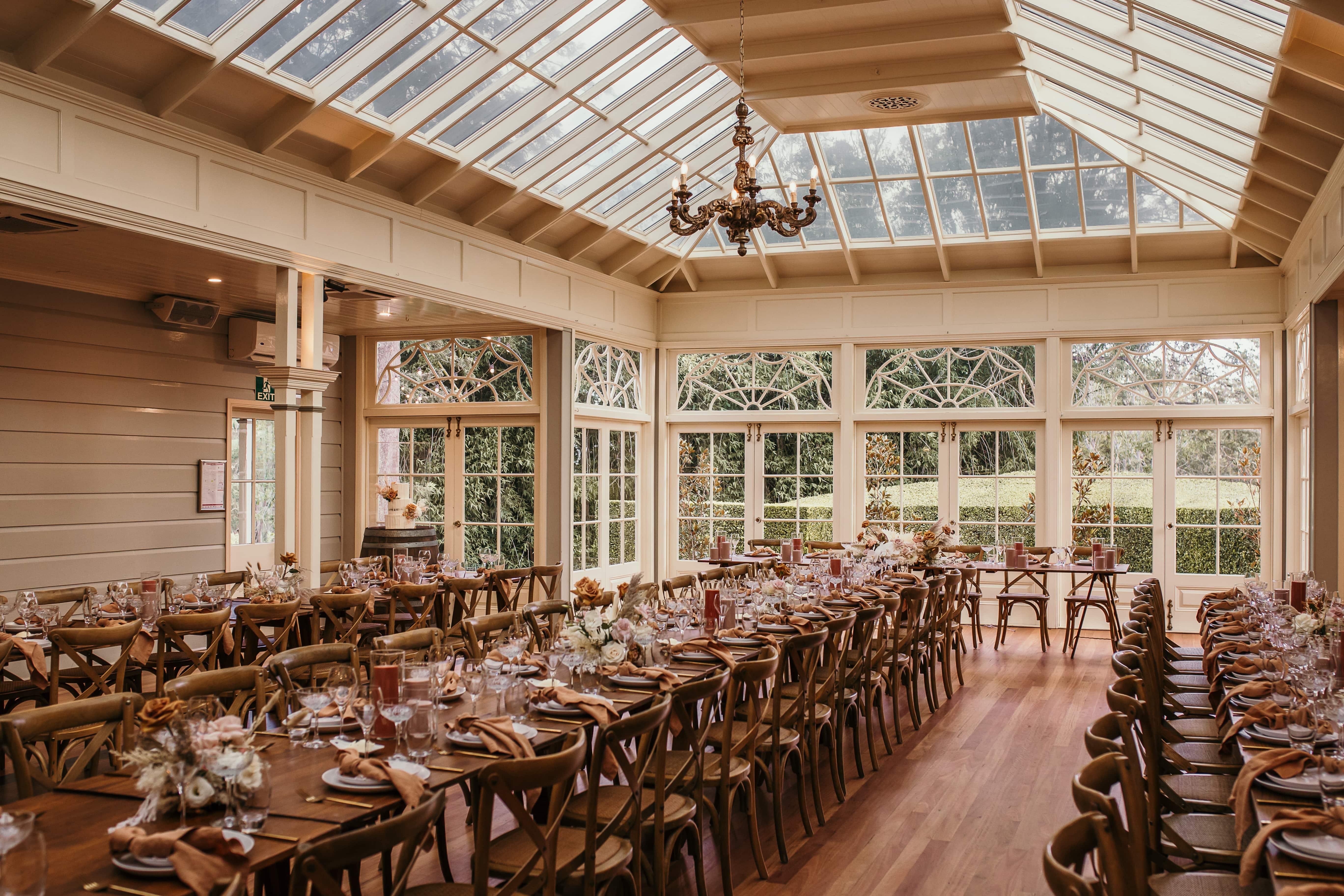 Gabbinbar Homestead conservatory