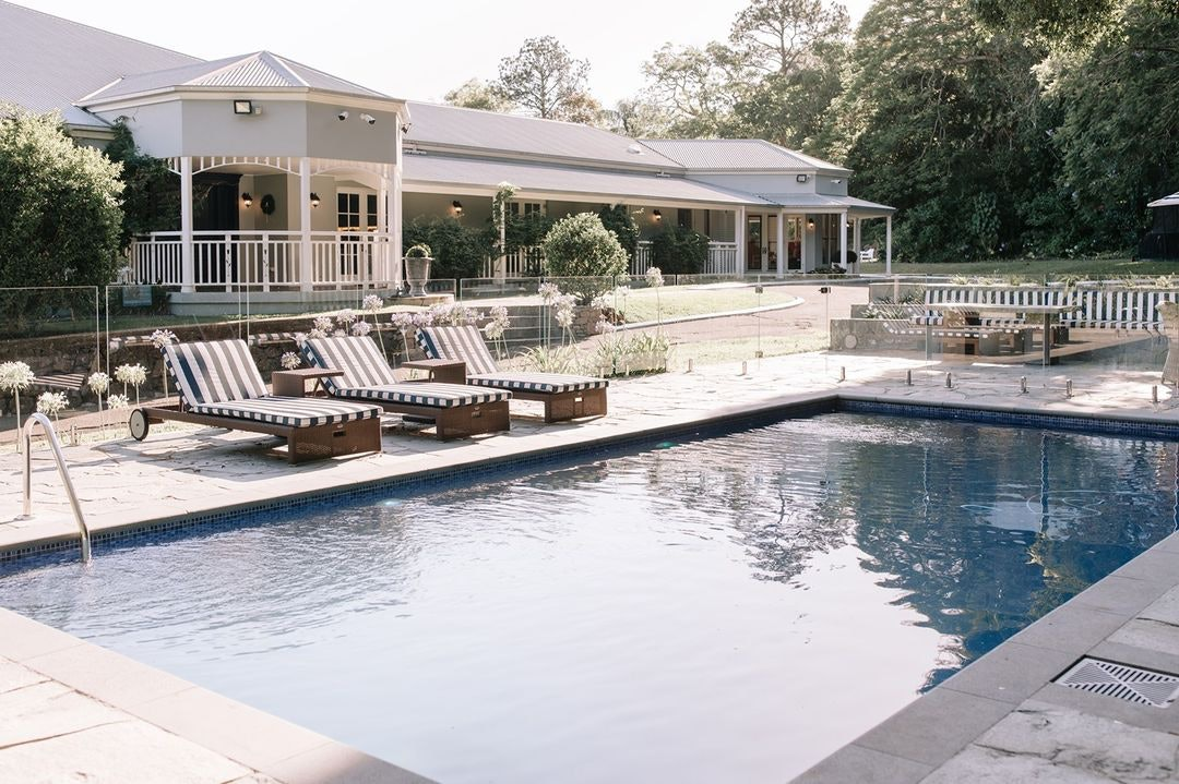 Outdoor pool at Homestead