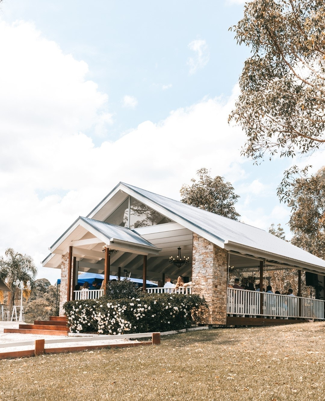 Outdoor ceremony chapel
