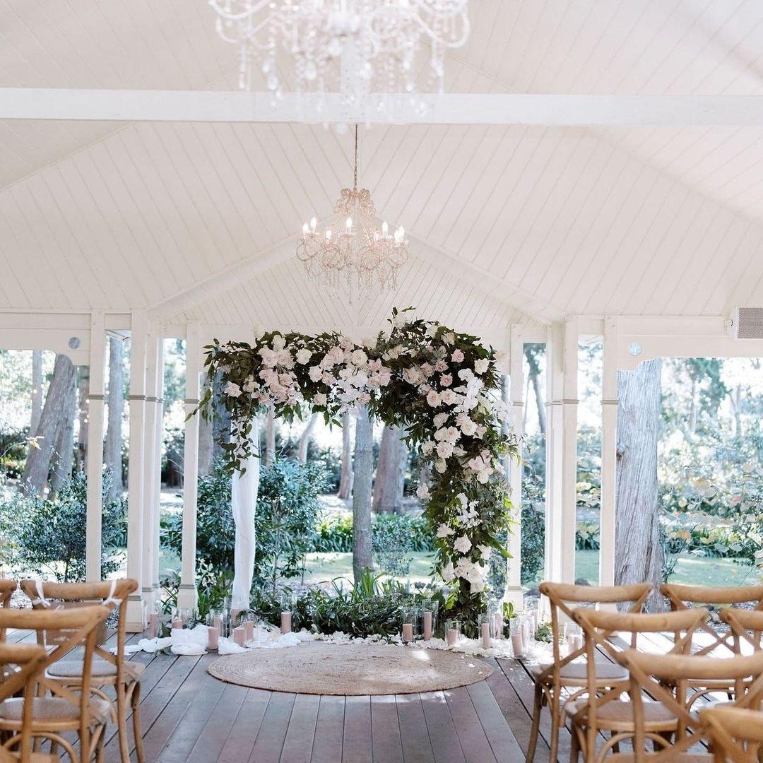Gabbinbar Homestead wedding pavilion